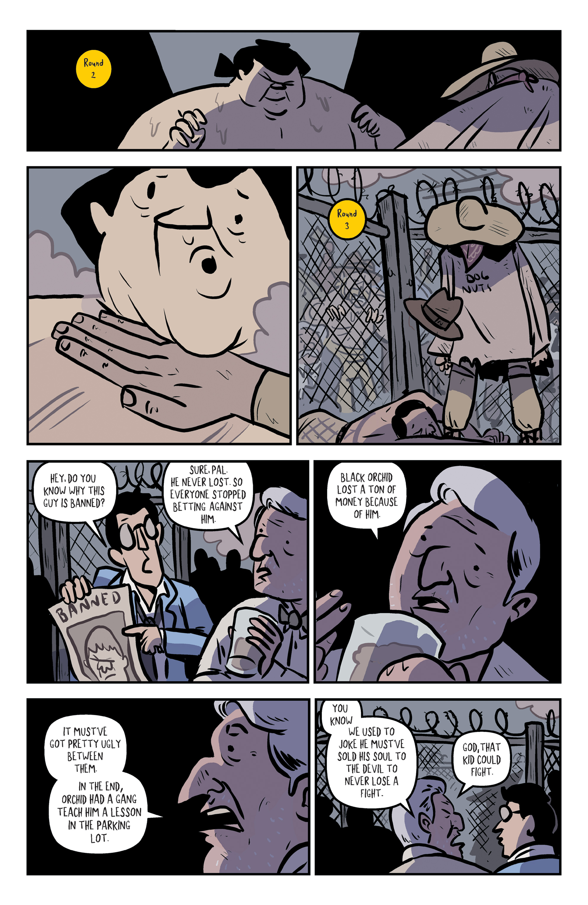 Read online Rock Candy Mountain comic -  Issue #2 - 17