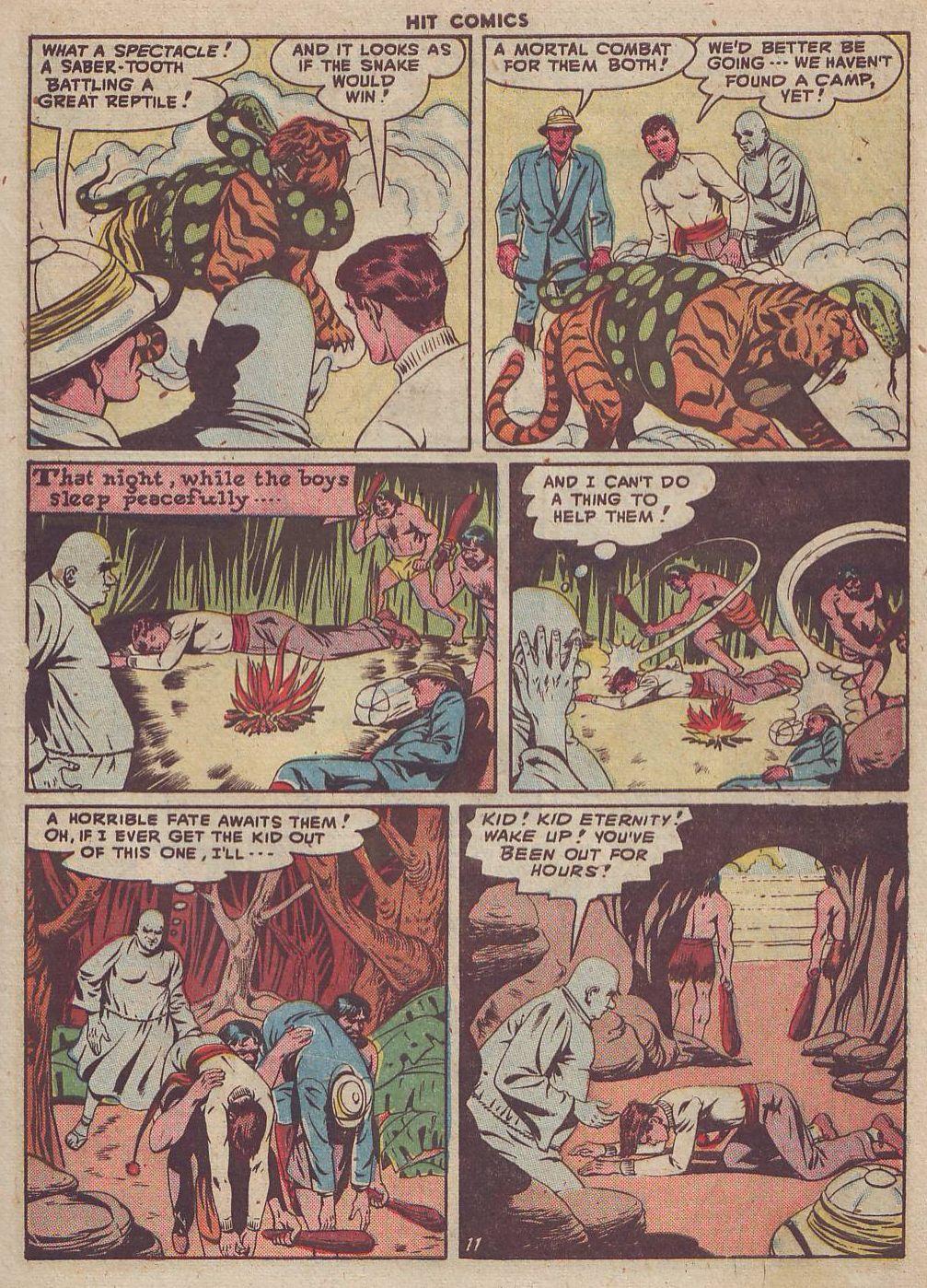 Read online Hit Comics comic -  Issue #51 - 13