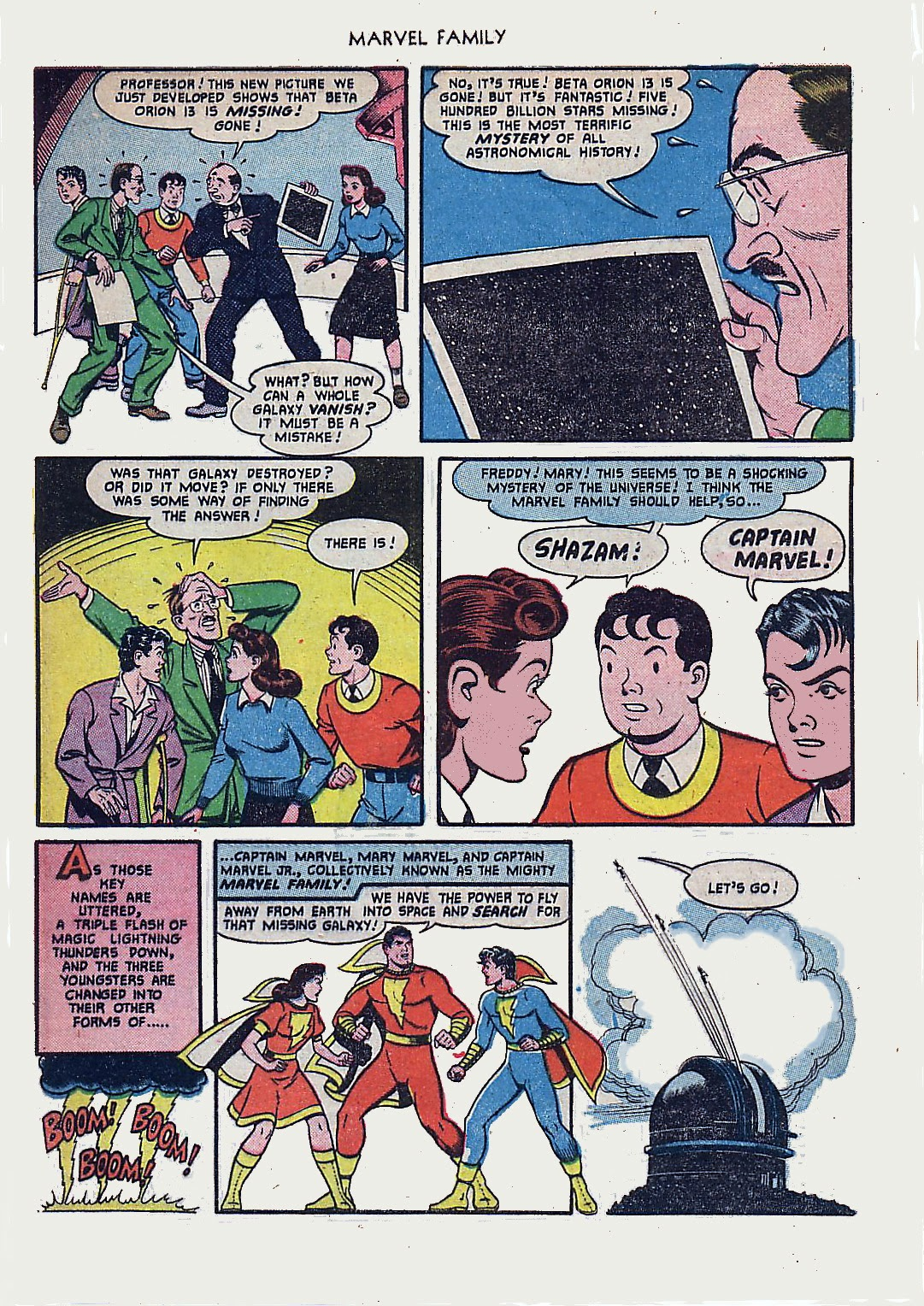 The Marvel Family issue 61 - Page 5