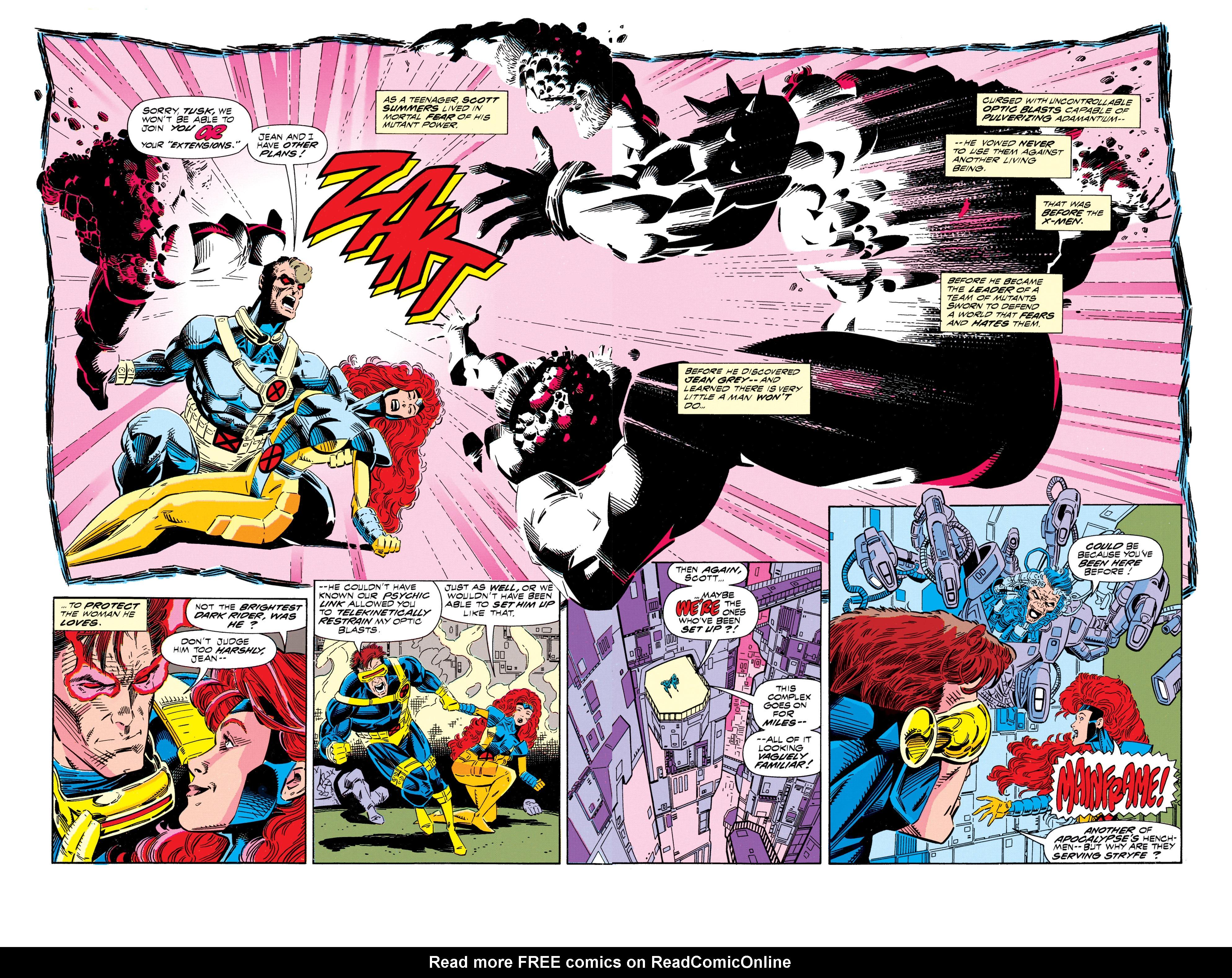 Read online Uncanny X-Men (1963) comic -  Issue #296 - 3