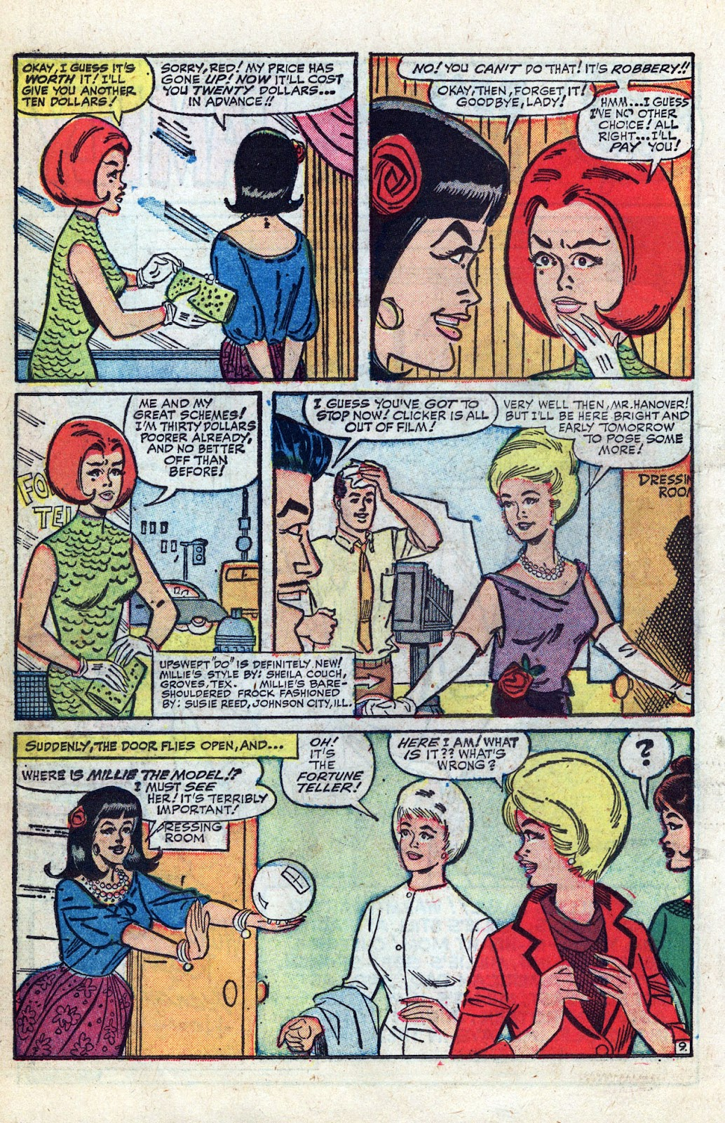 Read online Millie the Model comic -  Issue # Annual 3 - 50