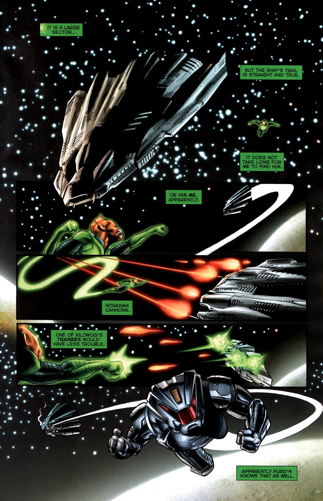 Read online Green Lantern Movie Prequel: Tomar-Re comic -  Issue # Full - 9