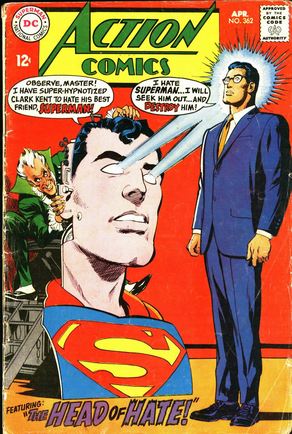 Read online Action Comics (1938) comic -  Issue #362 - 1