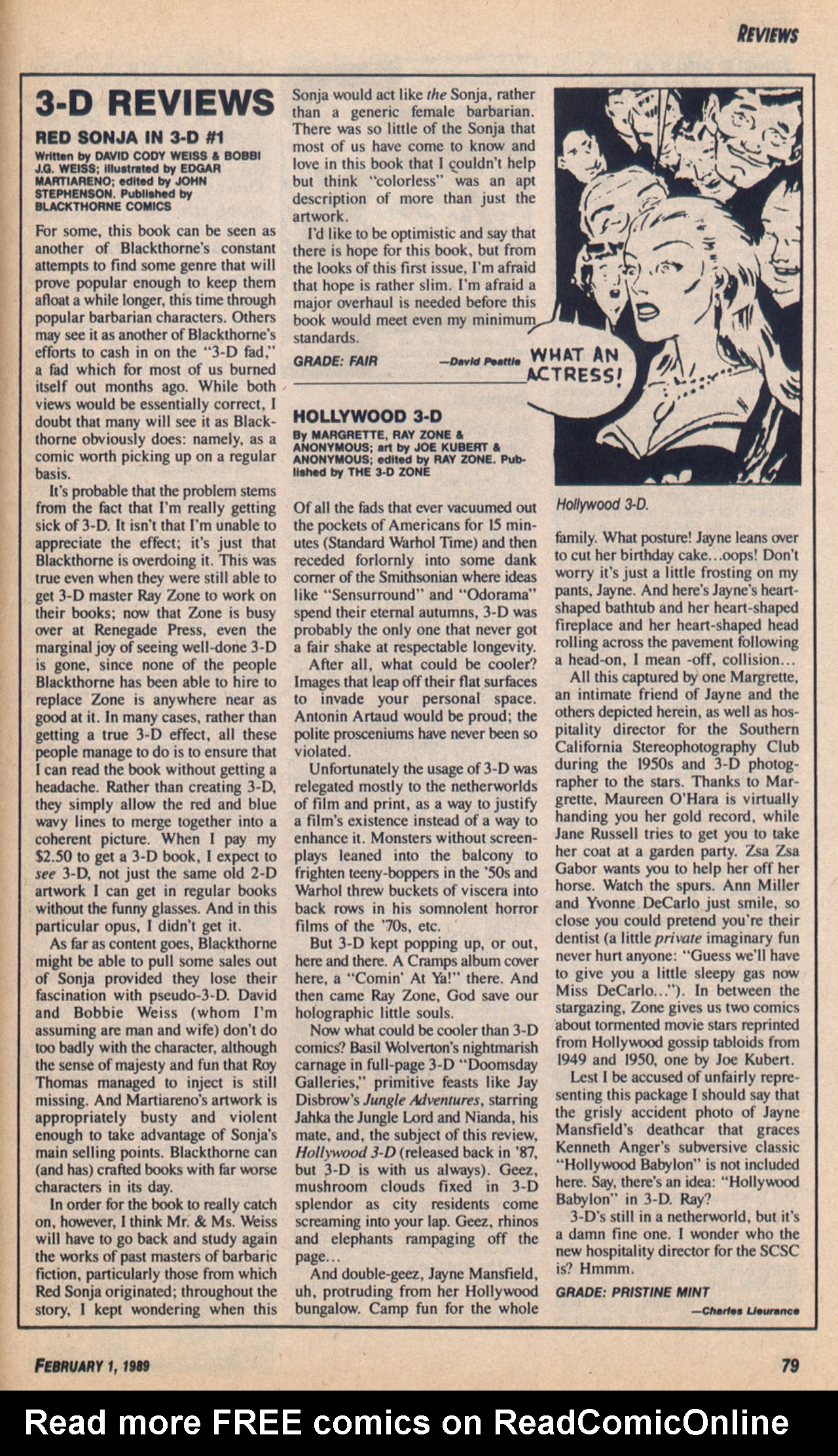 Read online Amazing Heroes comic -  Issue #158 - 80