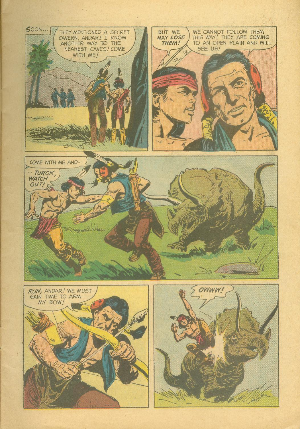 Read online Turok, Son of Stone comic -  Issue #28 - 7