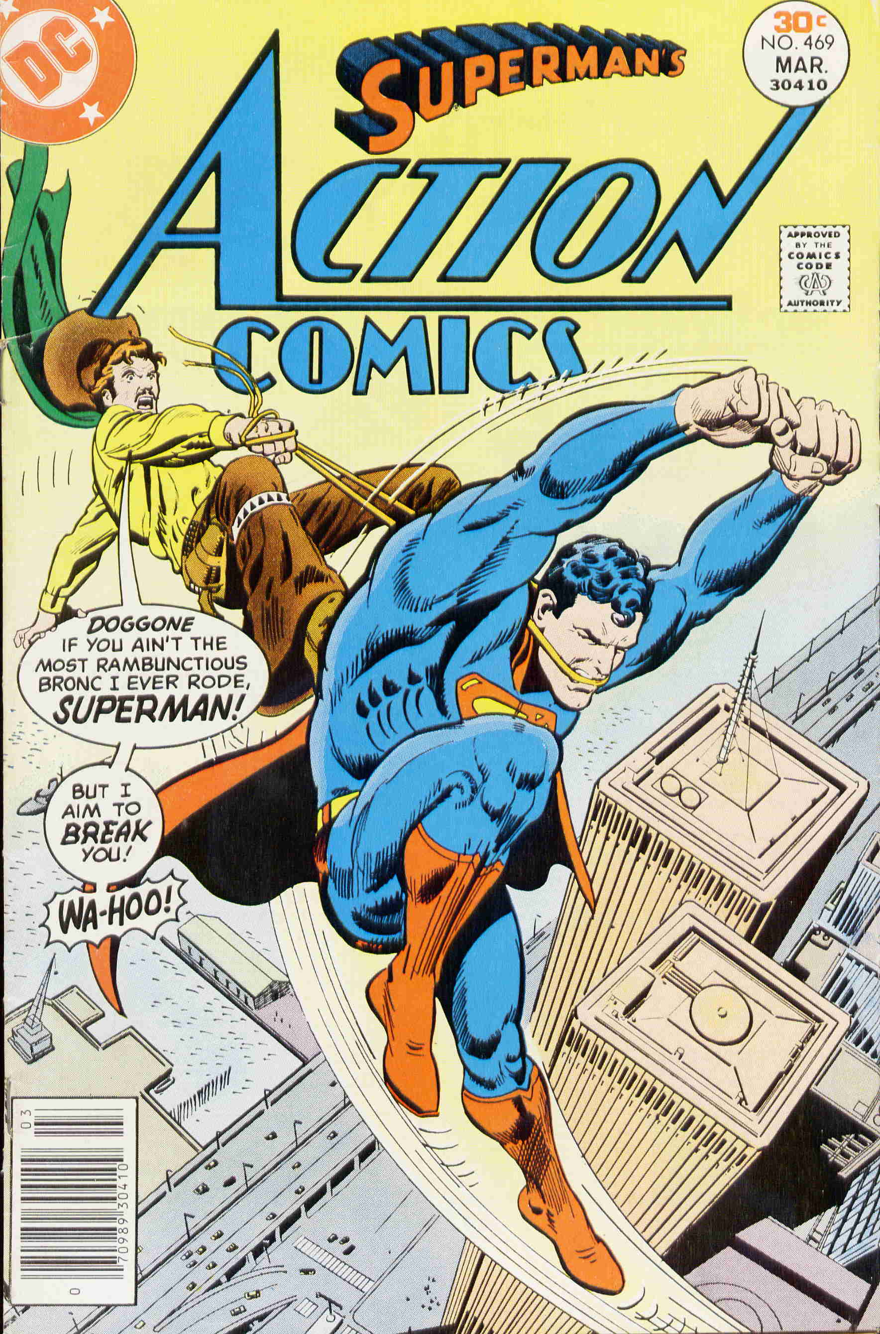 Read online Action Comics (1938) comic -  Issue #469 - 1