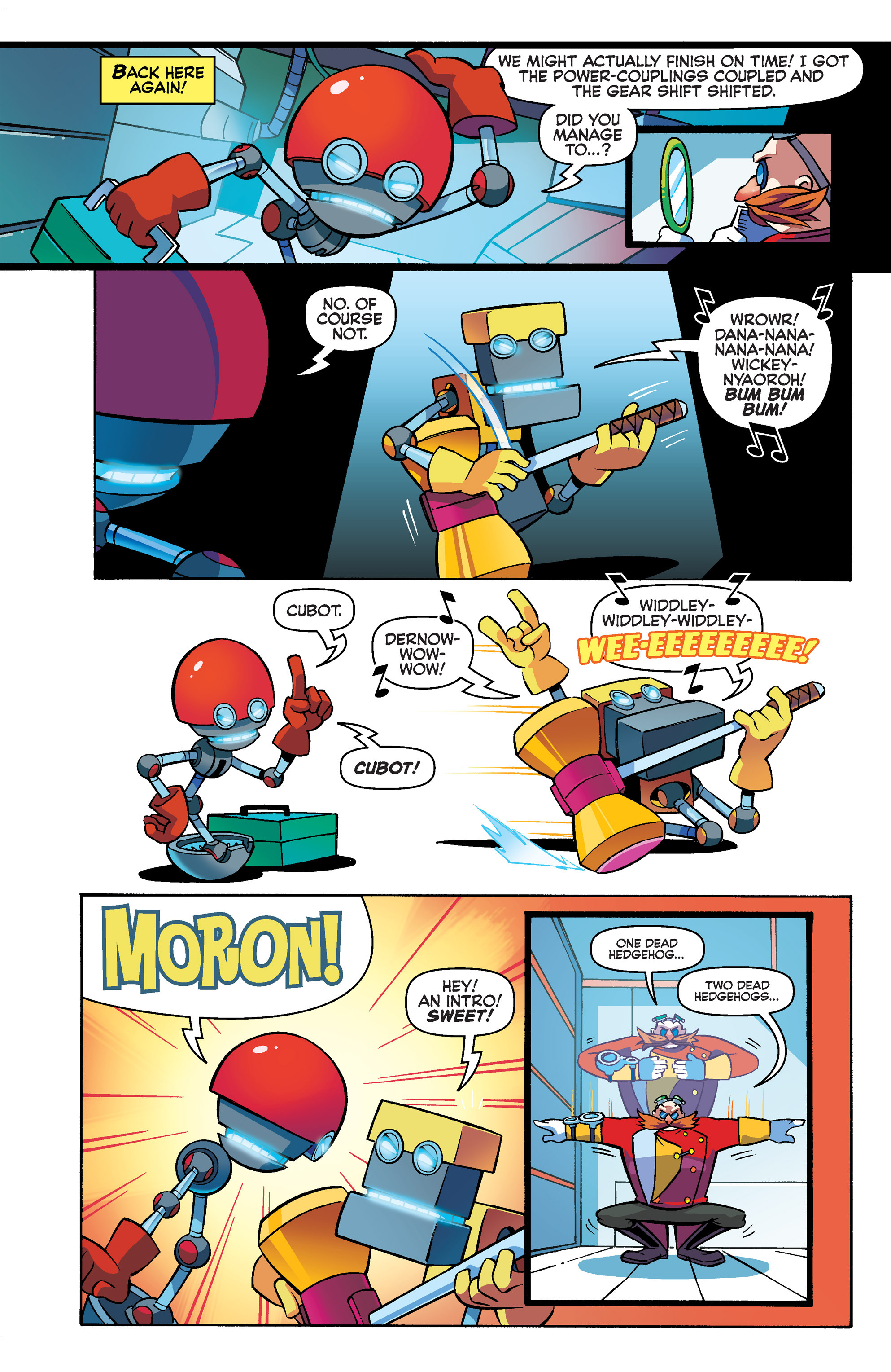 Read online Sonic Boom comic -  Issue #3 - 13