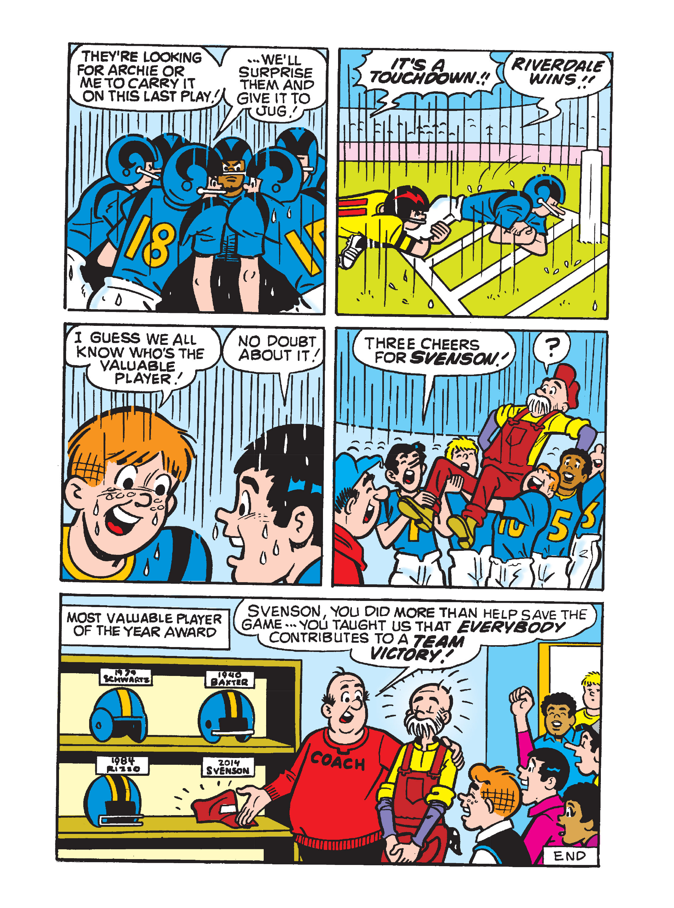 Read online Archie's Funhouse Double Digest comic -  Issue #10 - 121