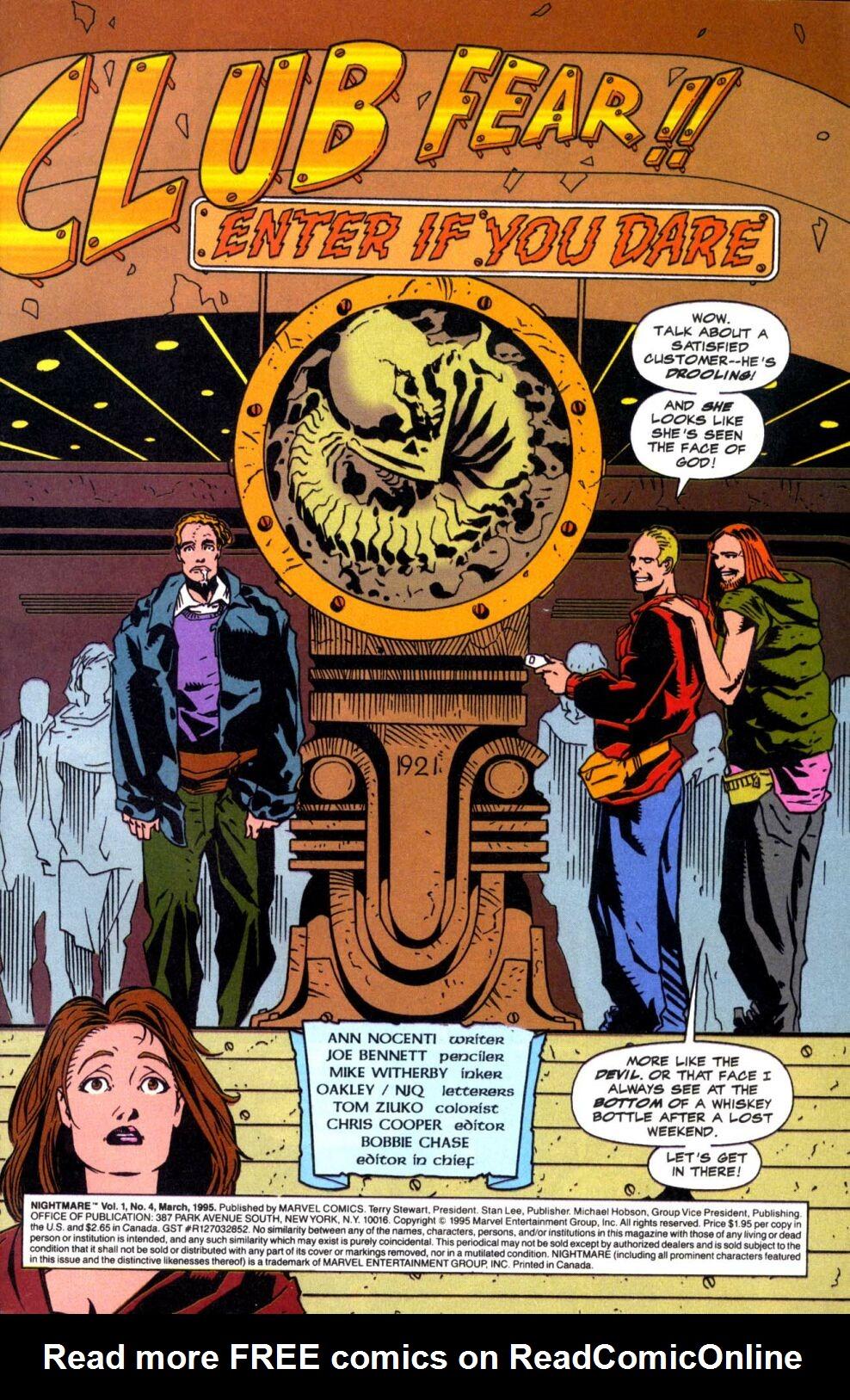Read online Nightmare comic -  Issue #4 - 2