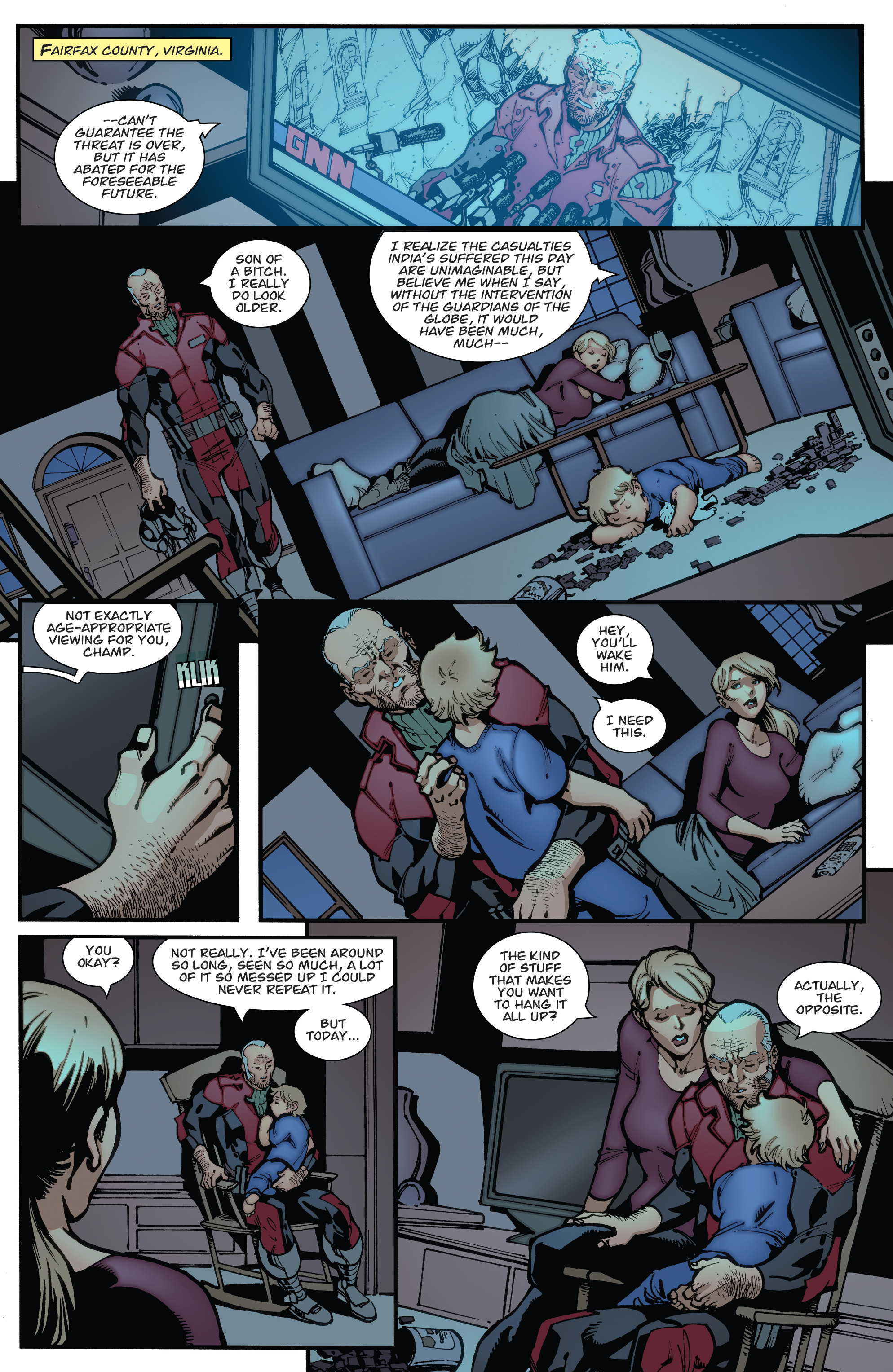Read online Guarding the Globe (2012) comic -  Issue #6 - 24