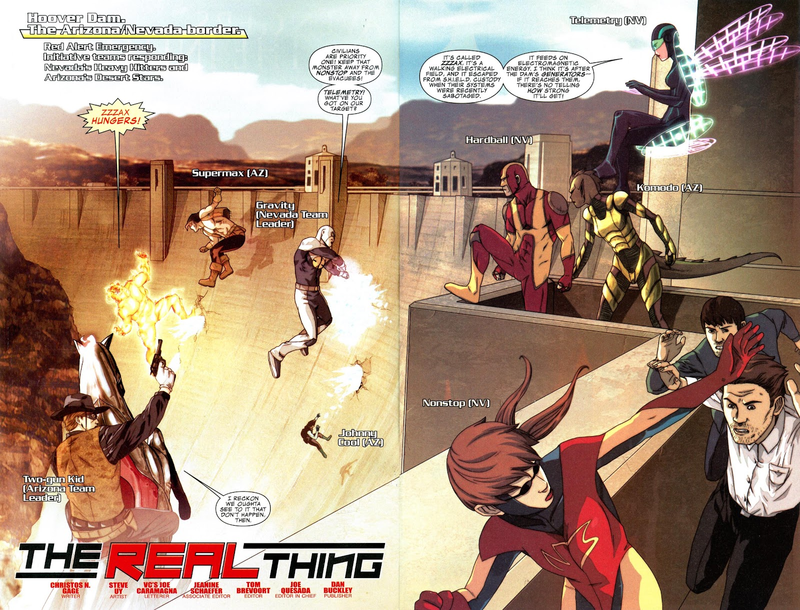 Read online Avengers: The Initiative comic -  Issue # _Special 1 - 4