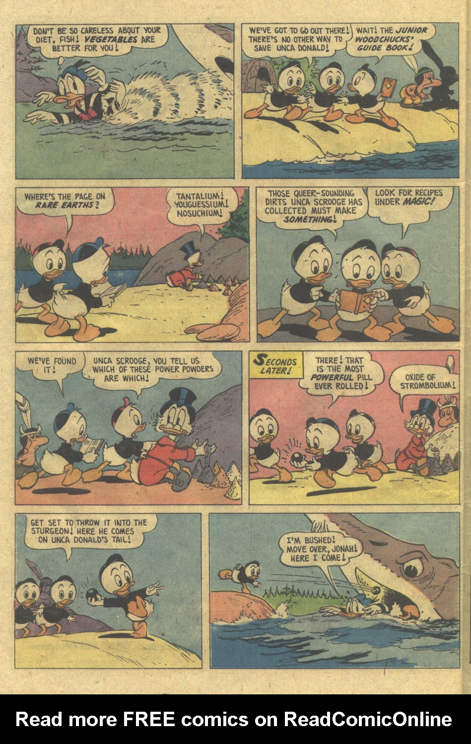 Read online Uncle Scrooge (1953) comic -  Issue #112 - 30