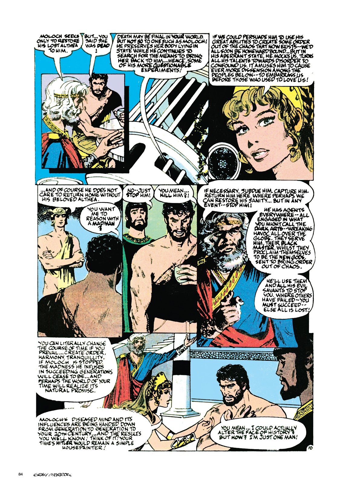 Read online Orion and Edge of Chaos comic -  Issue # TPB - 85