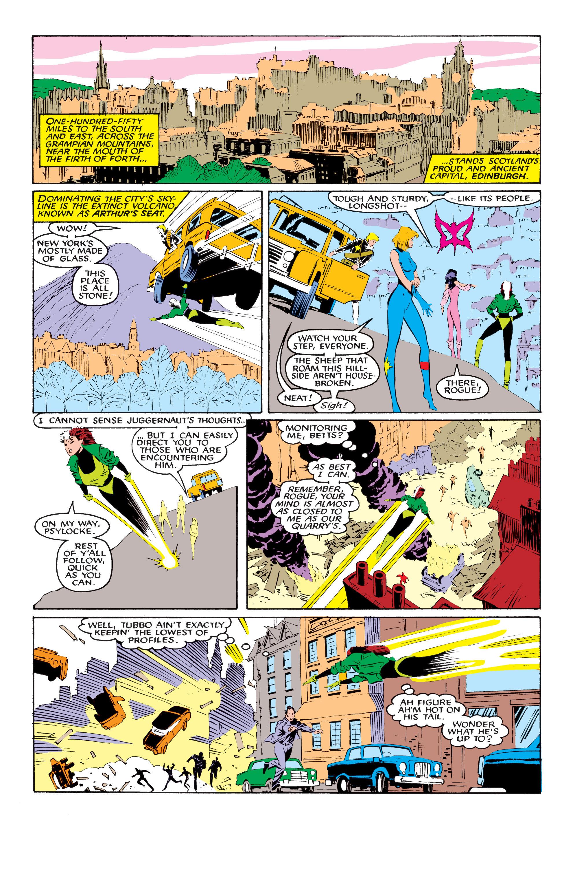 Read online Uncanny X-Men (1963) comic -  Issue #218 - 11