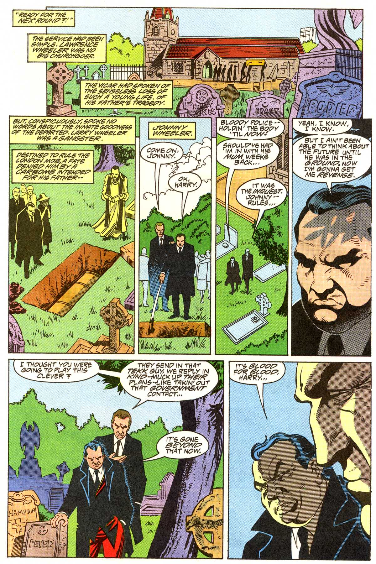 Read online Peter Cannon--Thunderbolt (1992) comic -  Issue #7 - 12