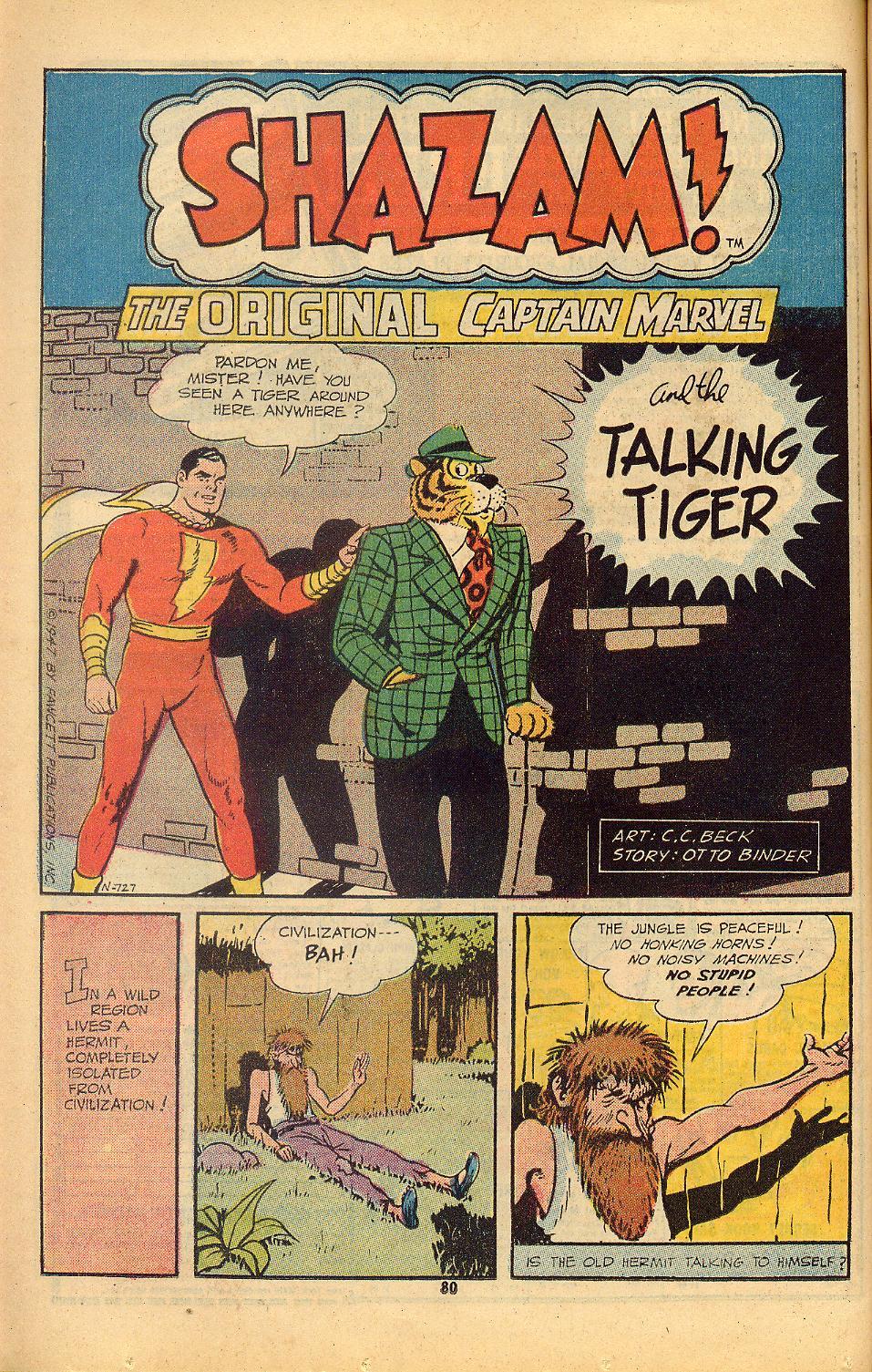Read online Shazam! (1973) comic -  Issue #8 - 80