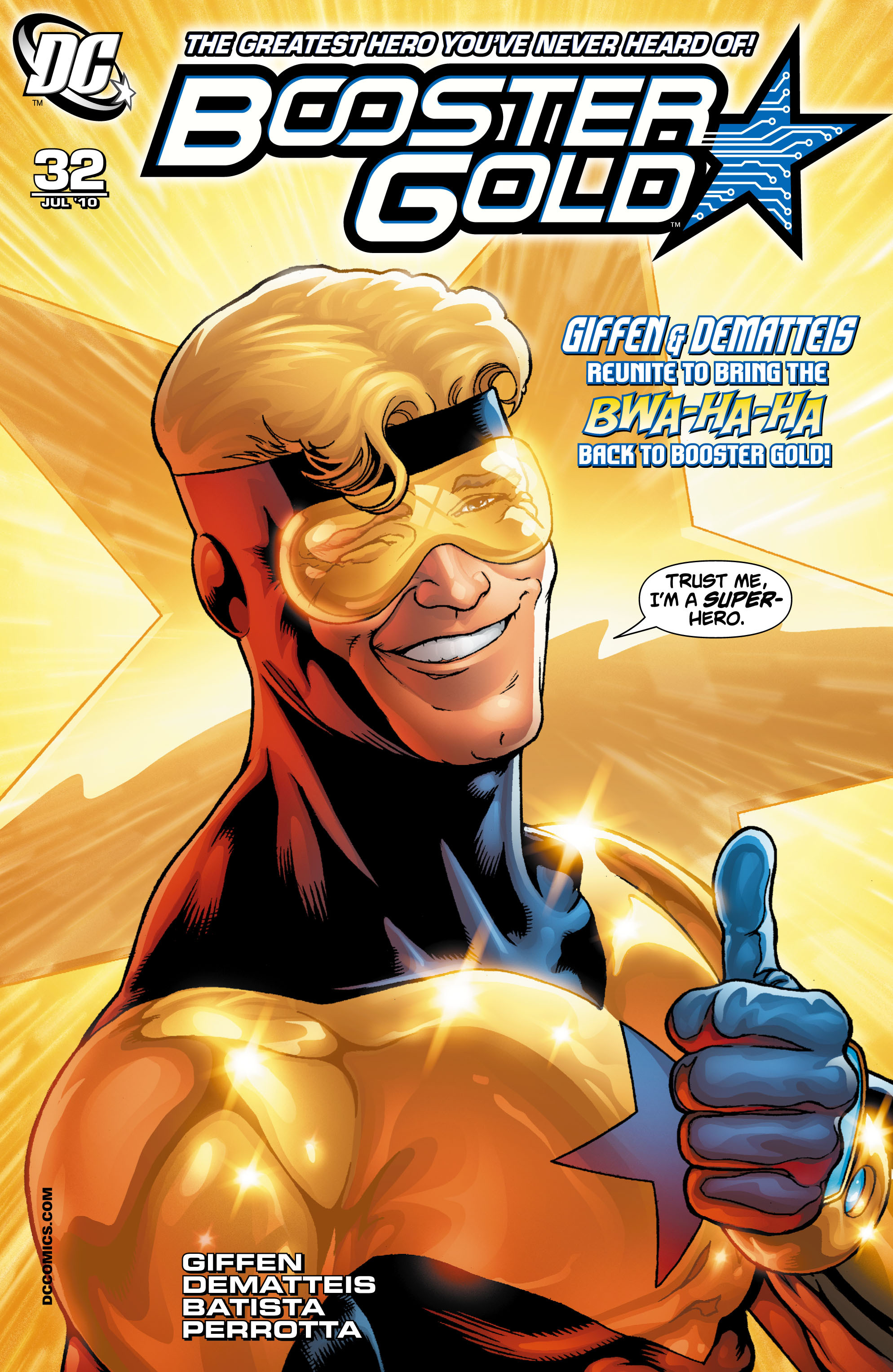 Booster Gold 2007 Issue 32