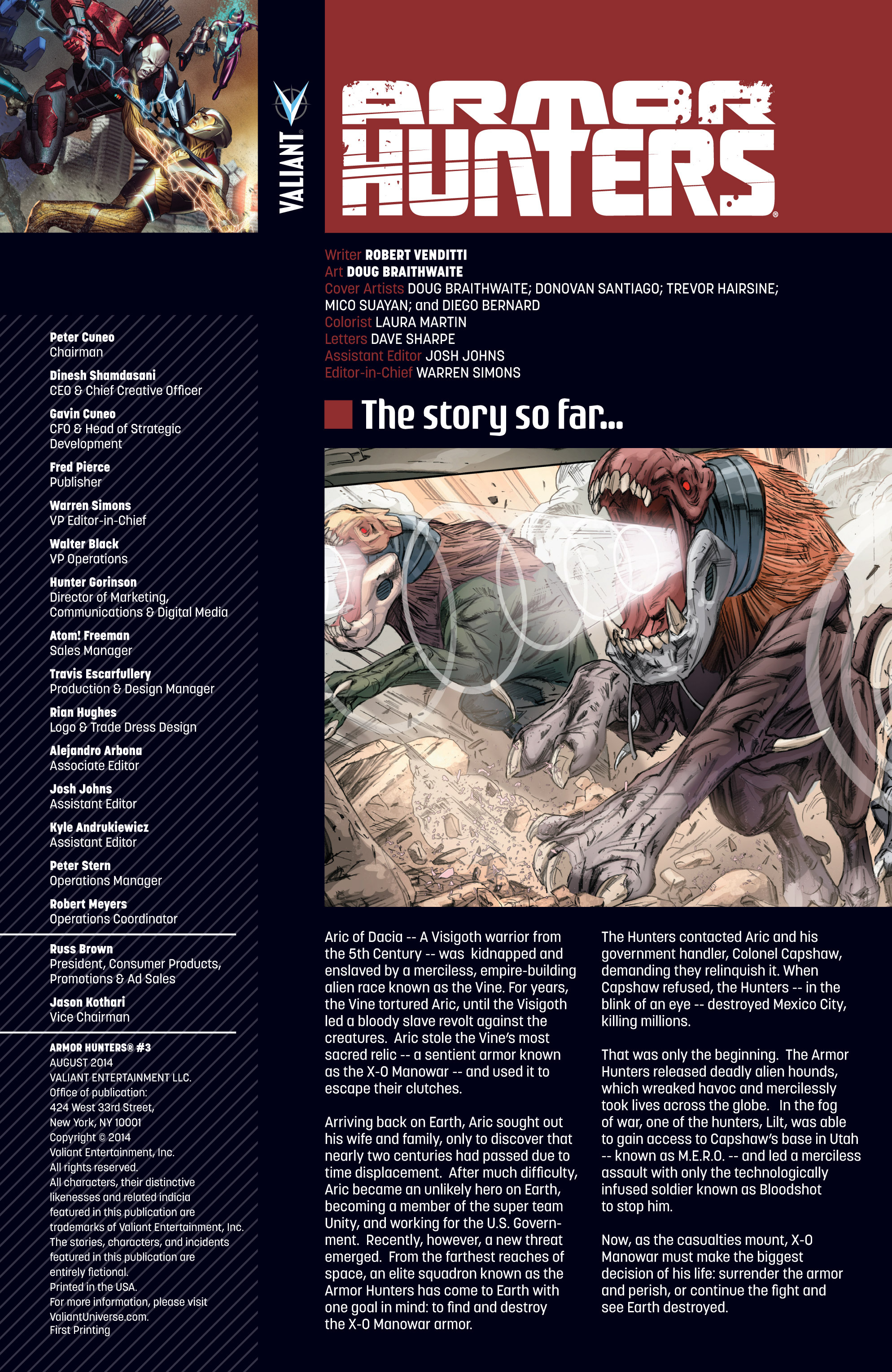 Read online Armor Hunters comic -  Issue #3 - 2