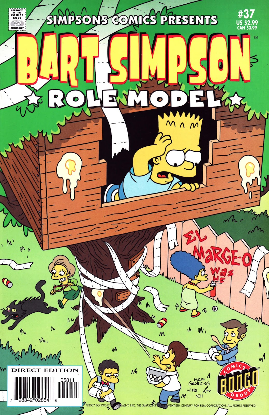Simpsons Comics Presents Bart Simpson 37 Page 1