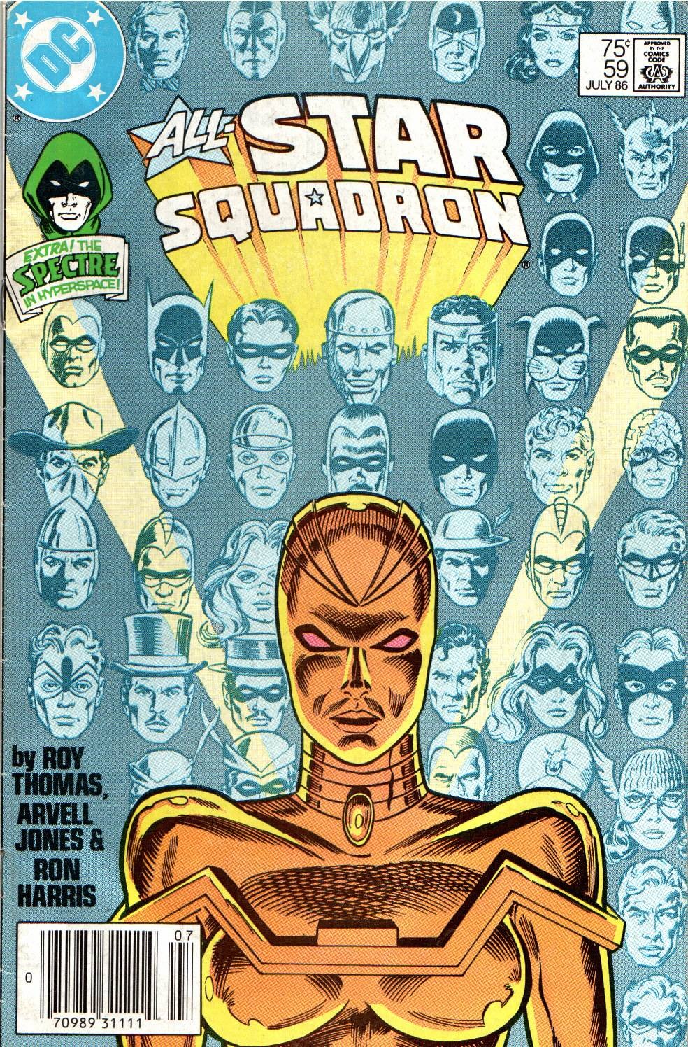 Read online All-Star Squadron comic -  Issue #59 - 1