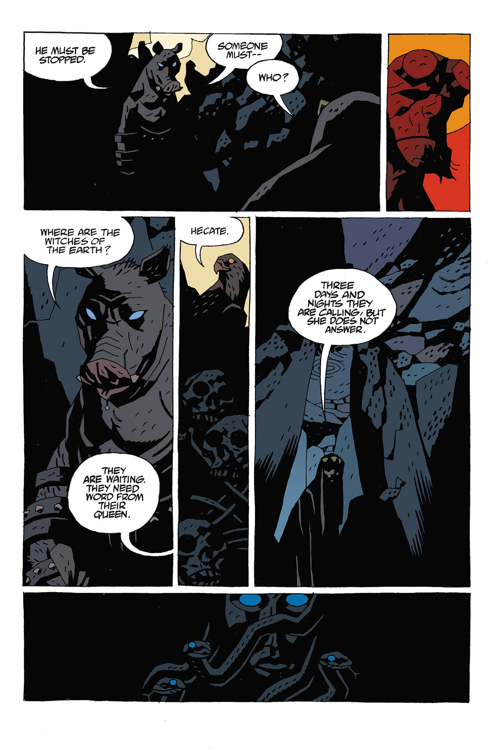 Read online Hellboy: Strange Places comic -  Issue # TPB - 128