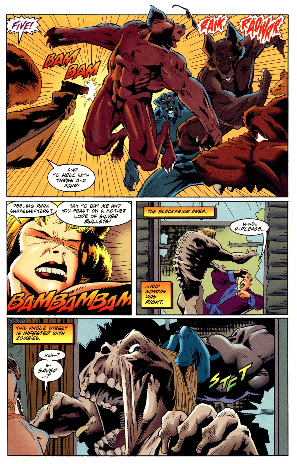 Read online Batman: Haunted Gotham comic -  Issue #2 - 21