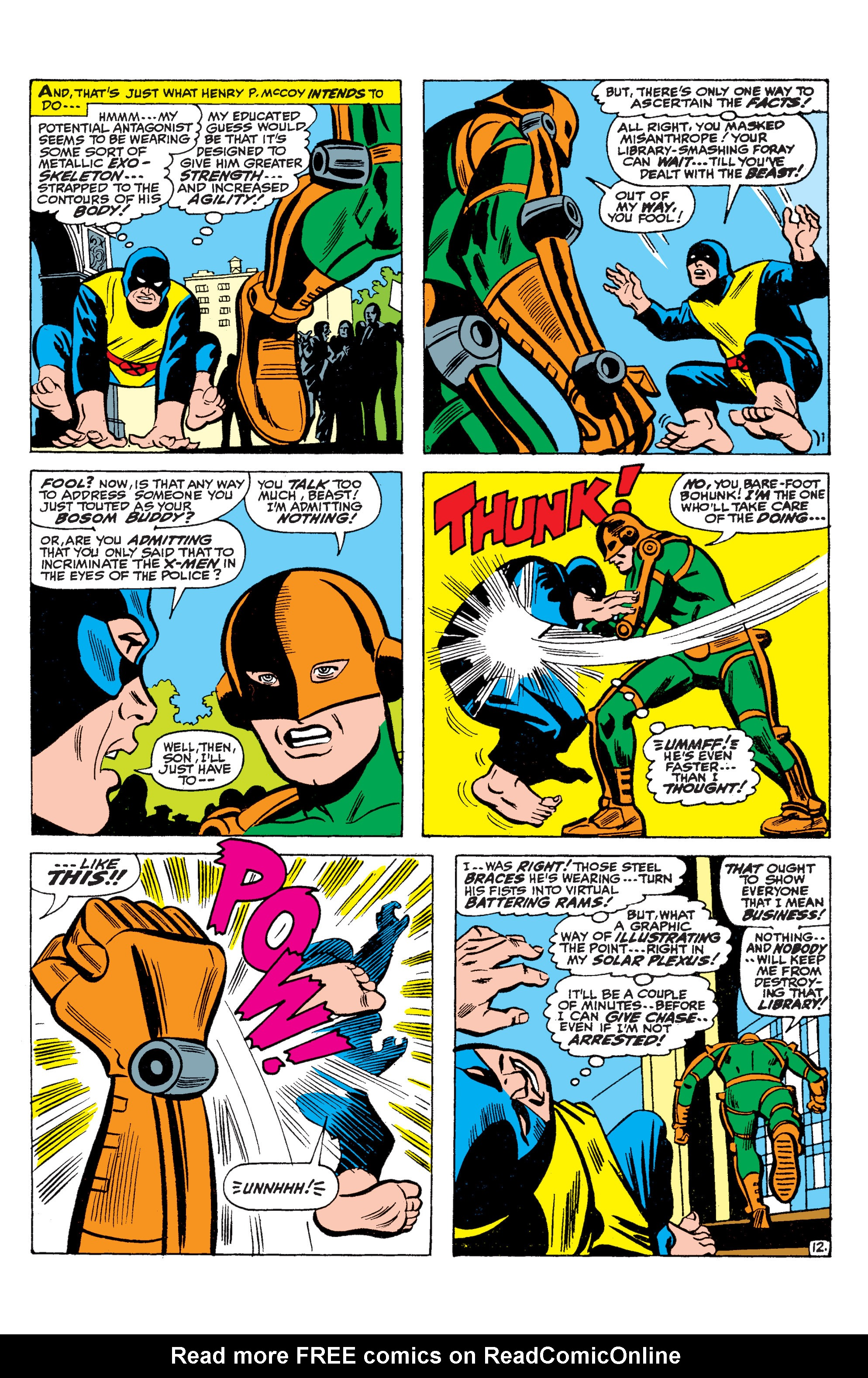 Read online Uncanny X-Men (1963) comic -  Issue #36 - 13