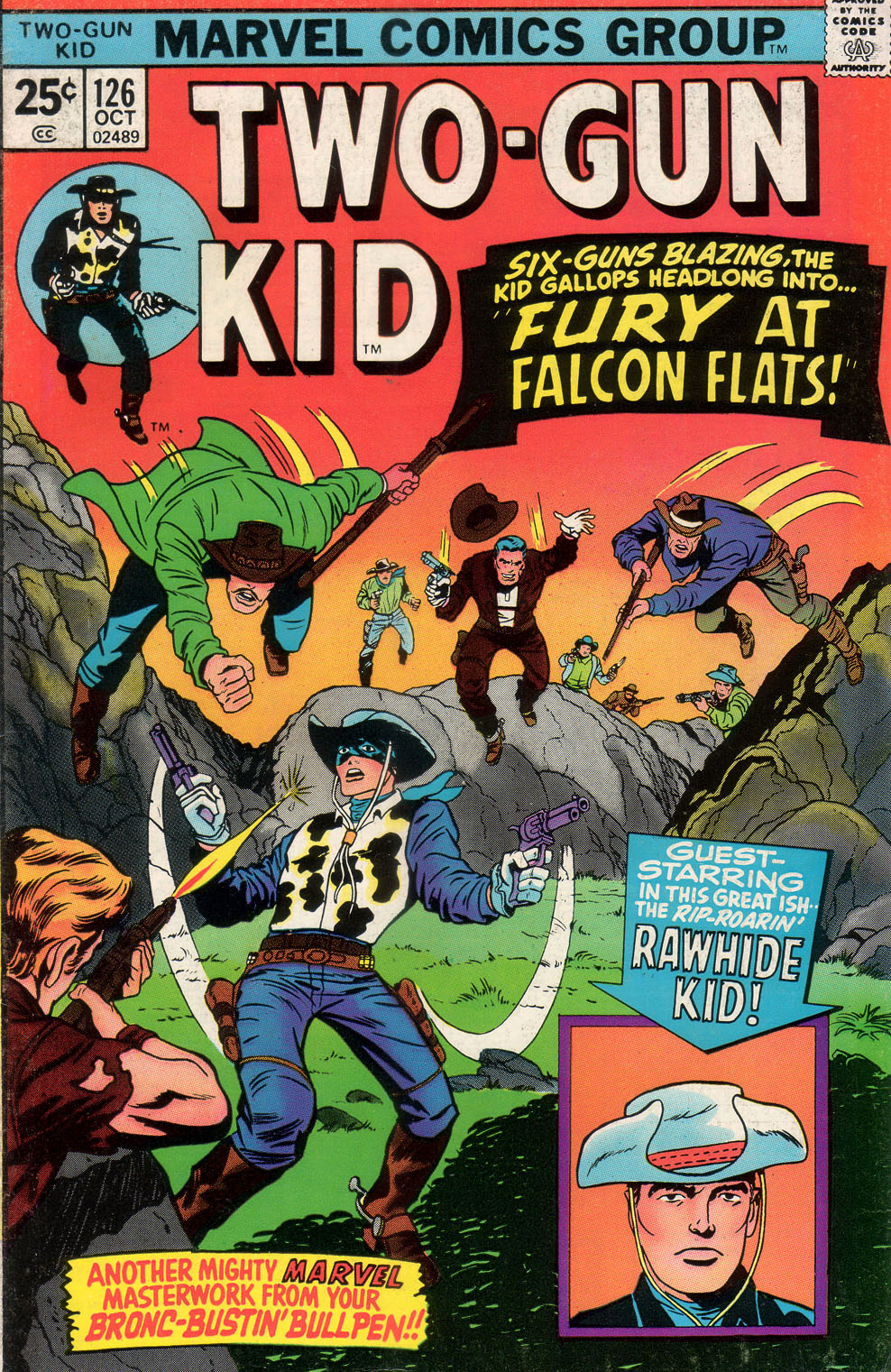 Read online Two-Gun Kid comic -  Issue #126 - 1