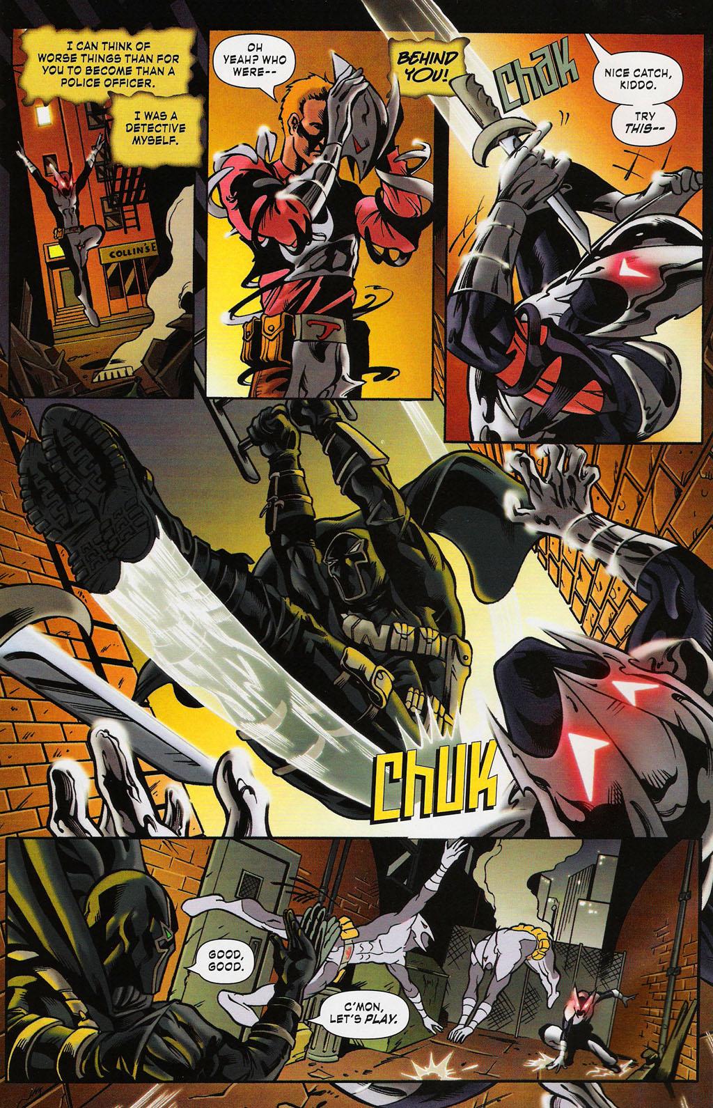 Read online ShadowHawk (2005) comic -  Issue #3 - 4