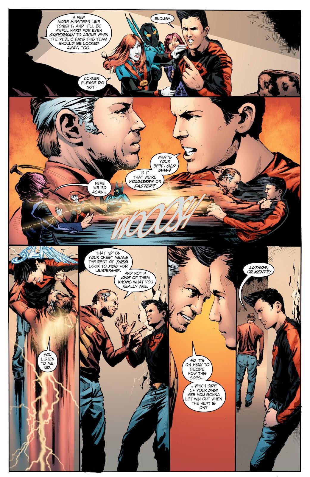 Read online Smallville Season 11 [II] comic -  Issue # TPB 7 - 146