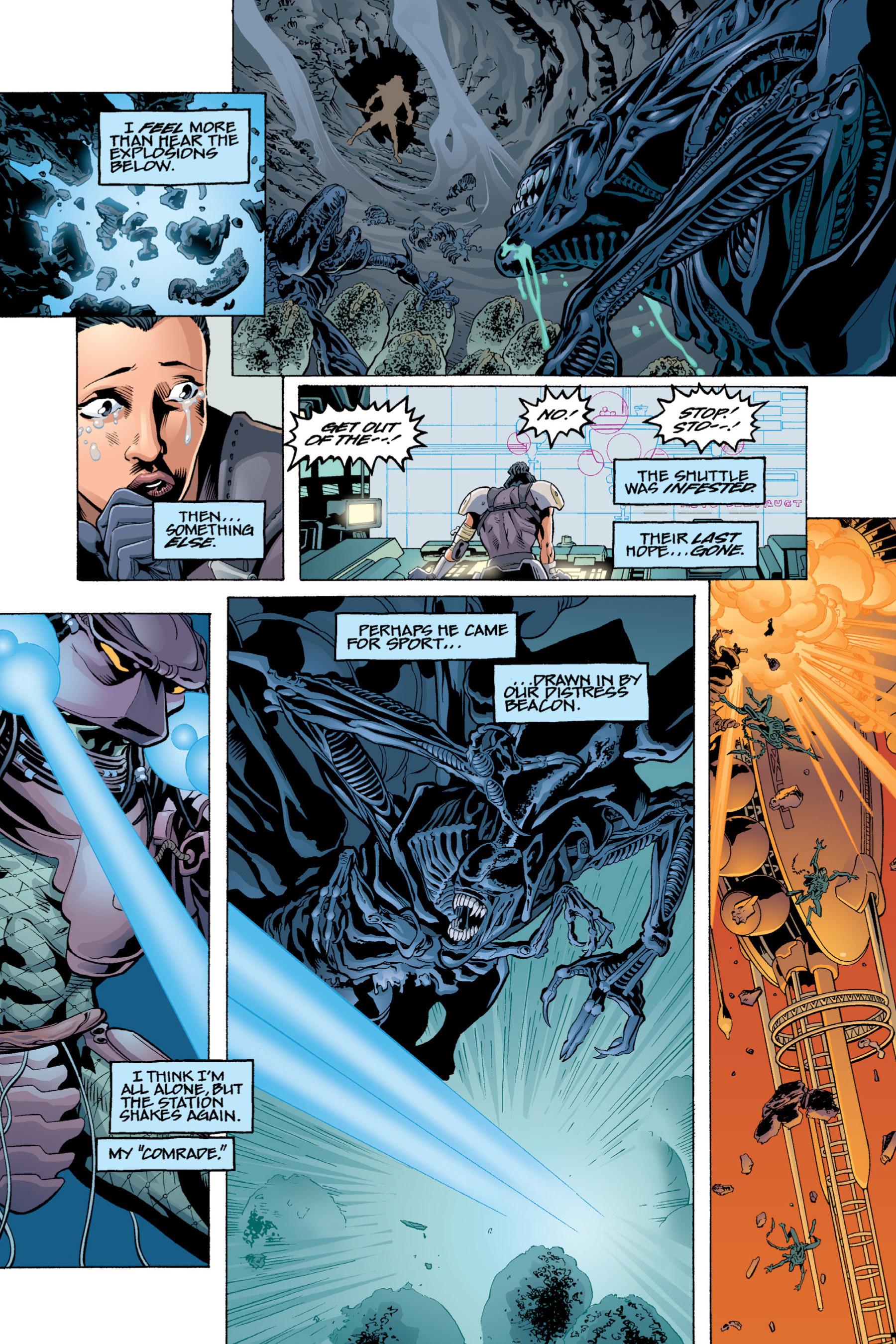 Read online Aliens vs. Predator Omnibus comic -  Issue # _TPB 2 Part 4 - 3