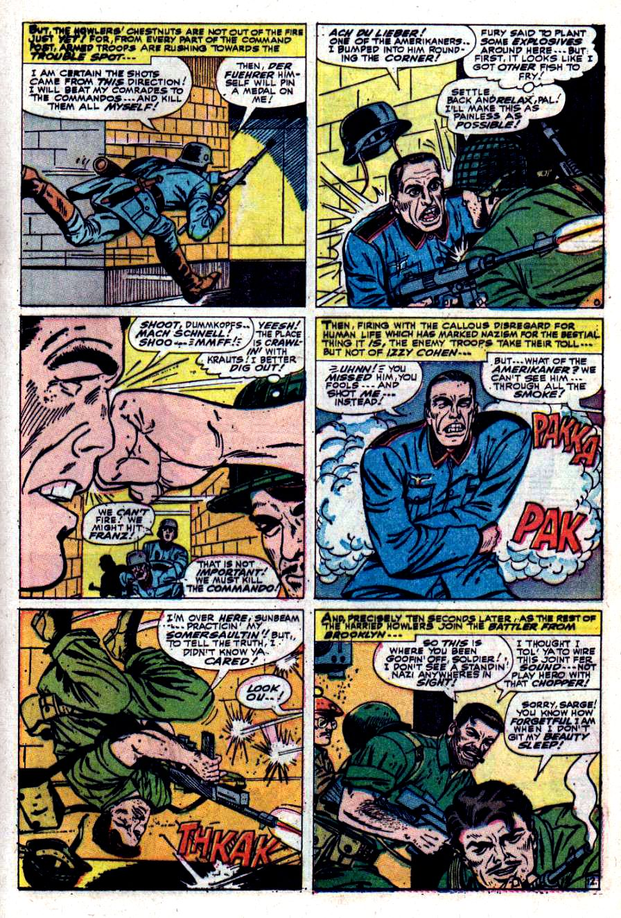 Read online Sgt. Fury comic -  Issue #40 - 17