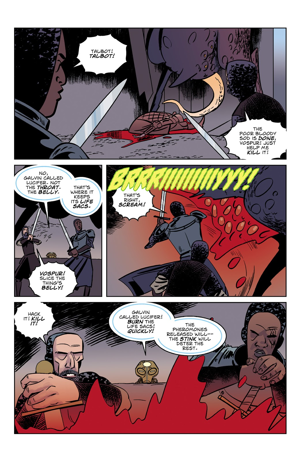 Read online Dark Ages comic -  Issue #3 - 13
