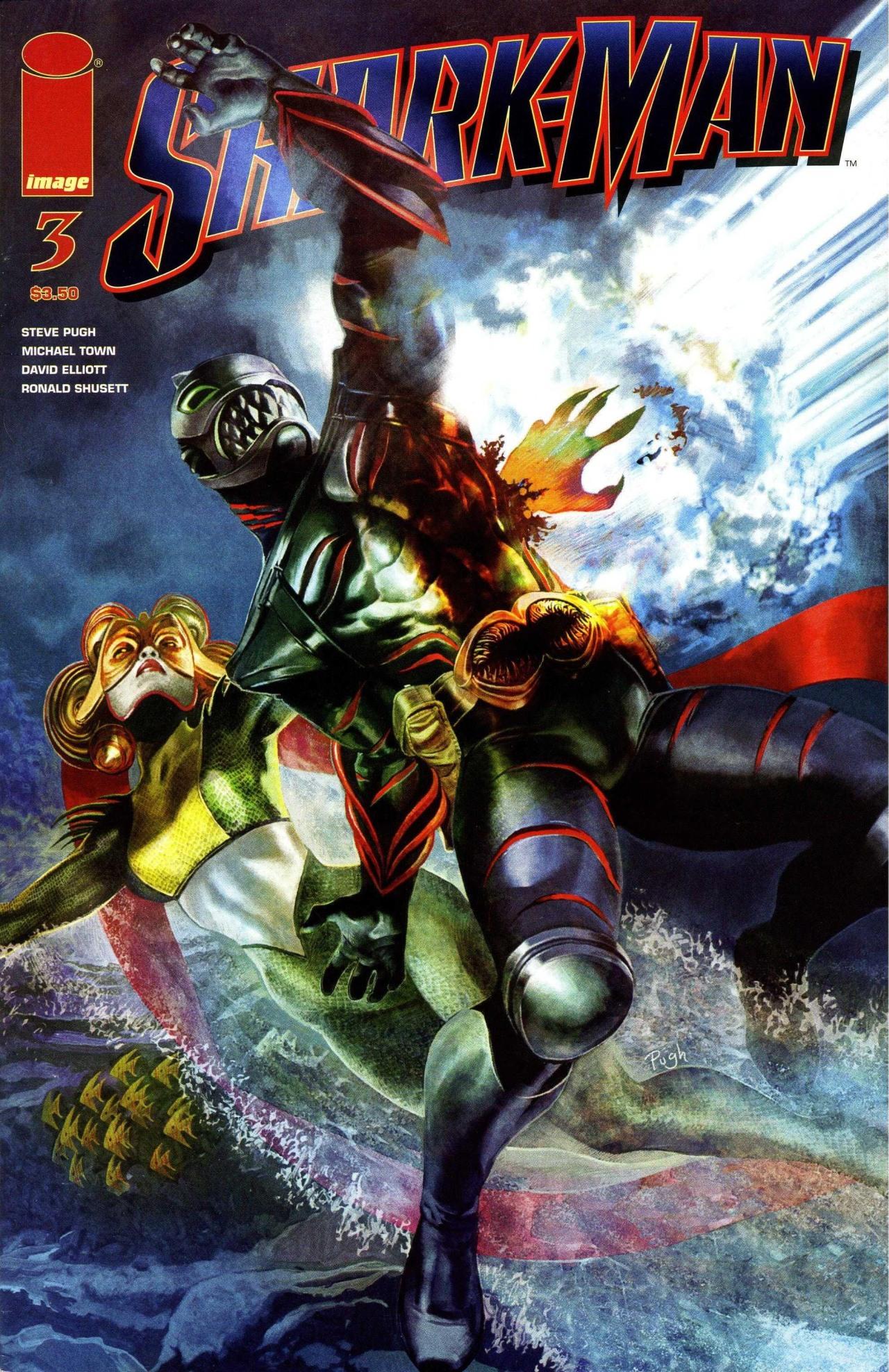 Read online Shark-Man comic -  Issue #3 - 1