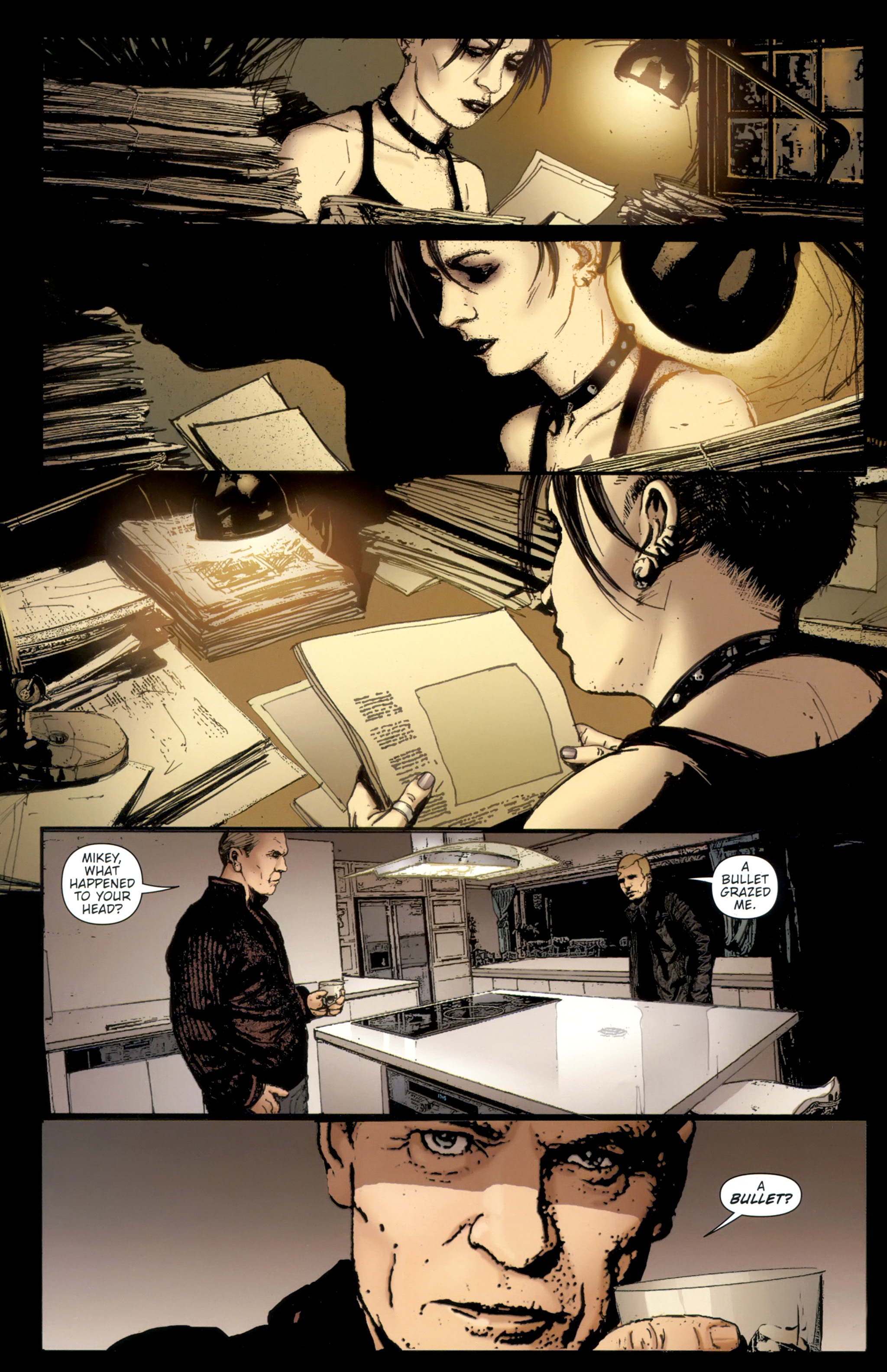 Read online The Girl With the Dragon Tattoo comic -  Issue # TPB 2 - 80