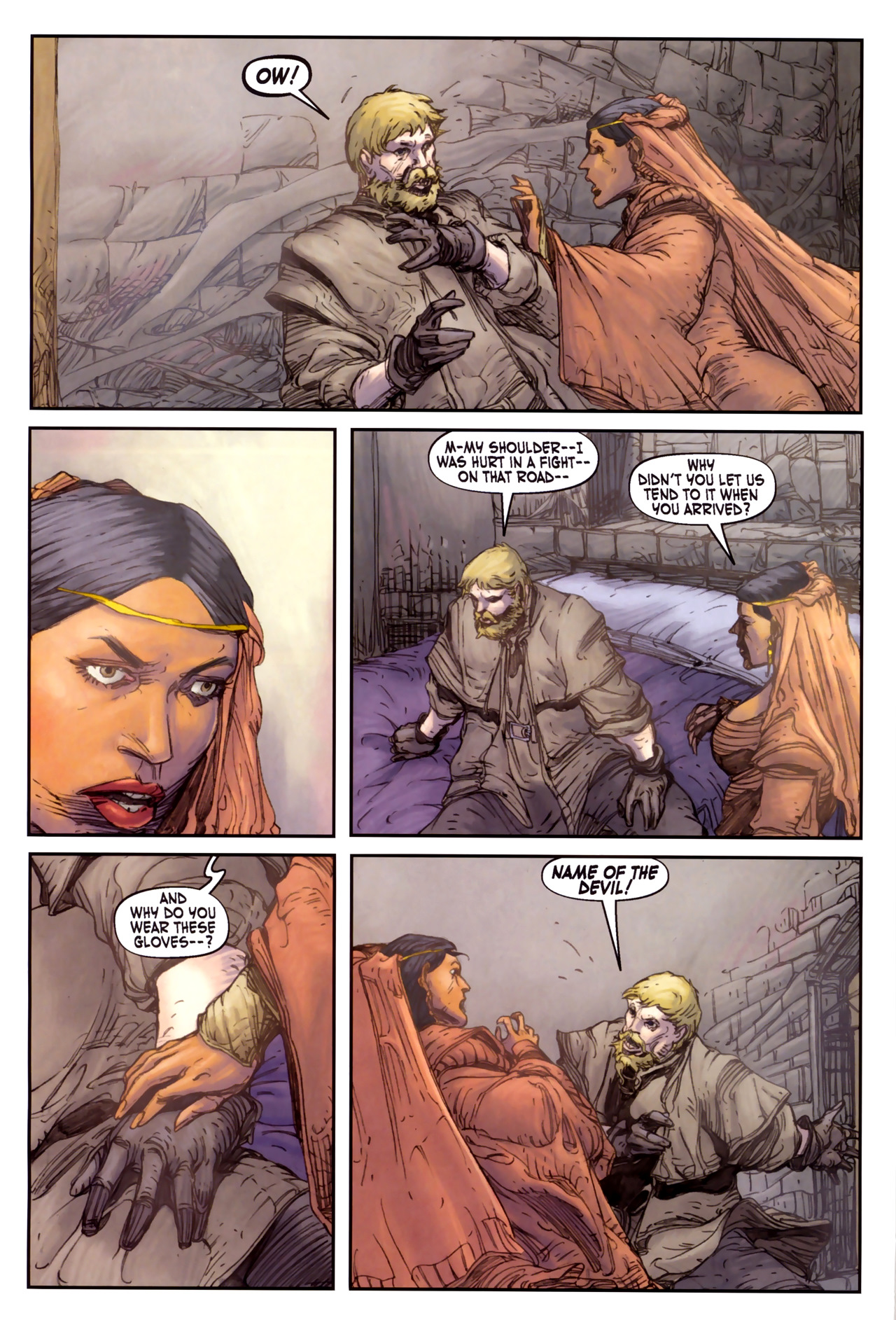 Read online Solomon Kane comic -  Issue #3 - 6