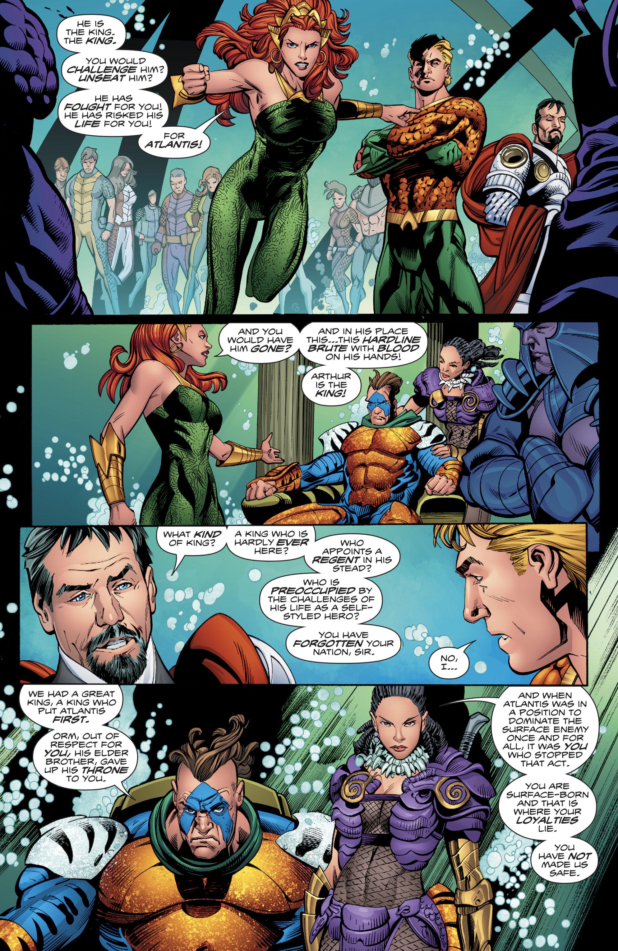 Read online Aquaman (2016) comic -  Issue #23 - 18