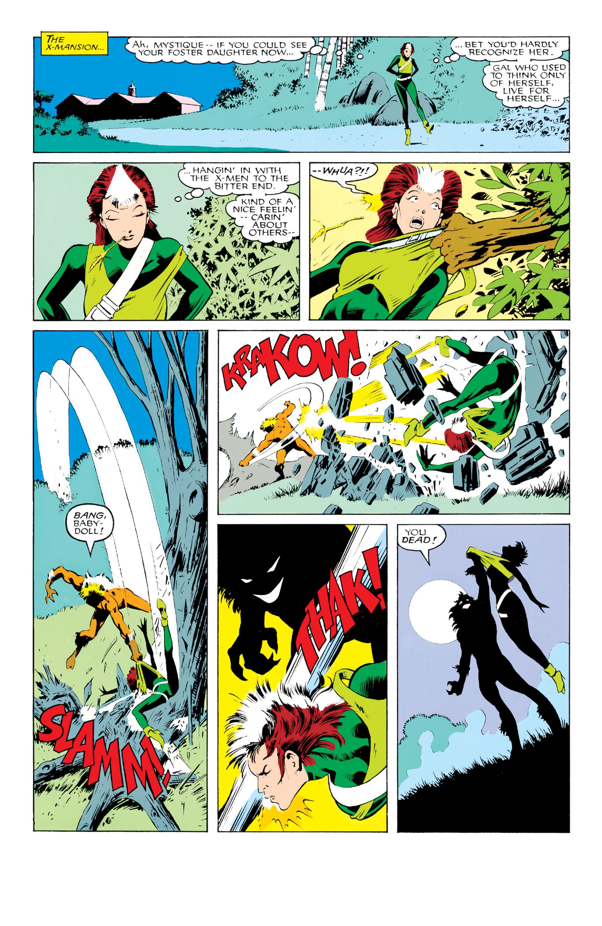 Read online Uncanny X-Men (1963) comic -  Issue #213 - 11
