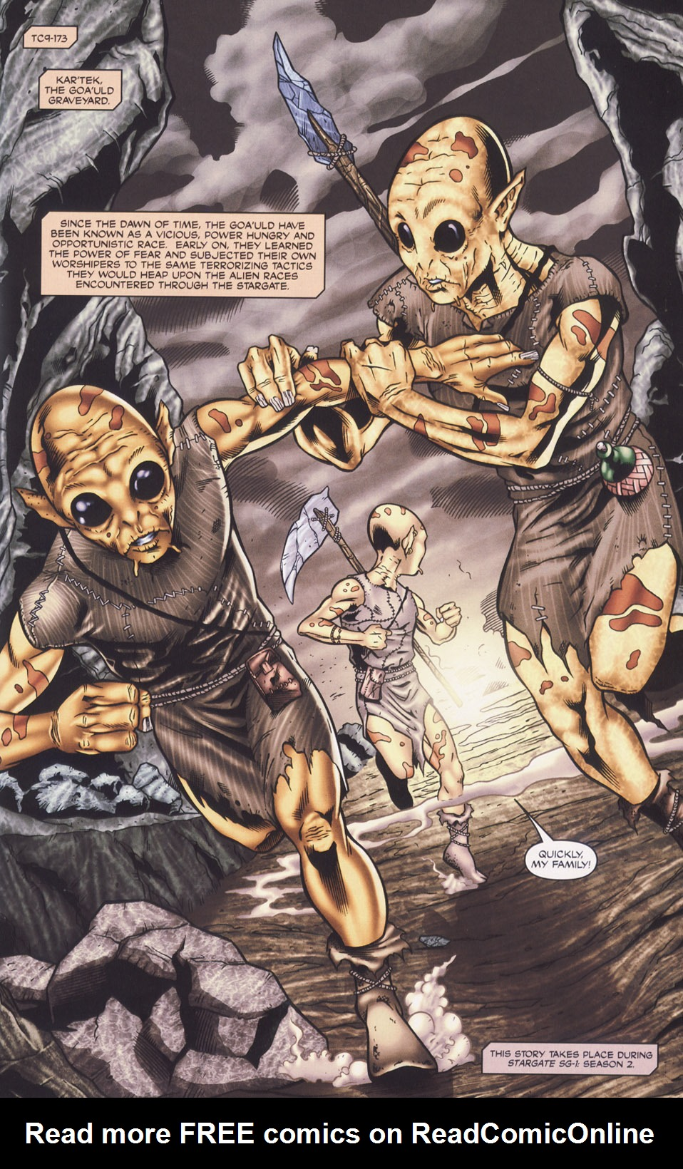 Read online Stargate SG-1: Fall of Rome comic -  Issue #1 - 3