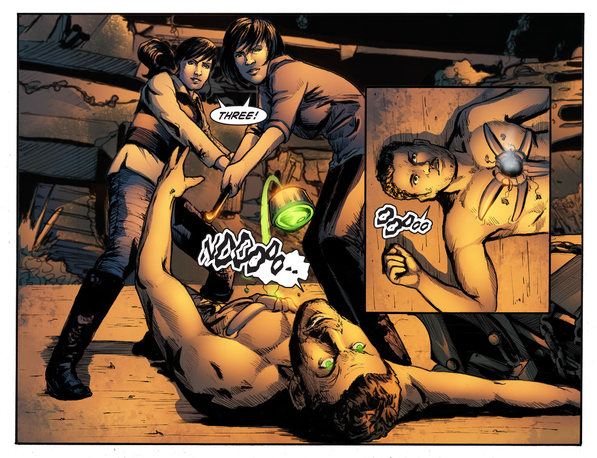Read online Smallville: Season 11 comic -  Issue #50 - 18