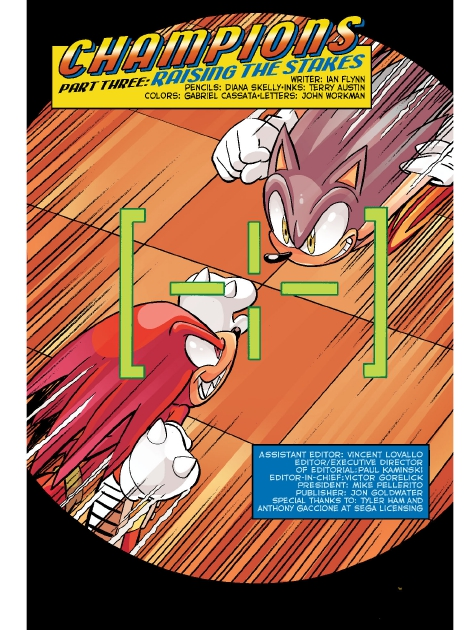 Read online Sonic Comics Spectacular: Speed of Sound comic -  Issue # Full - 57