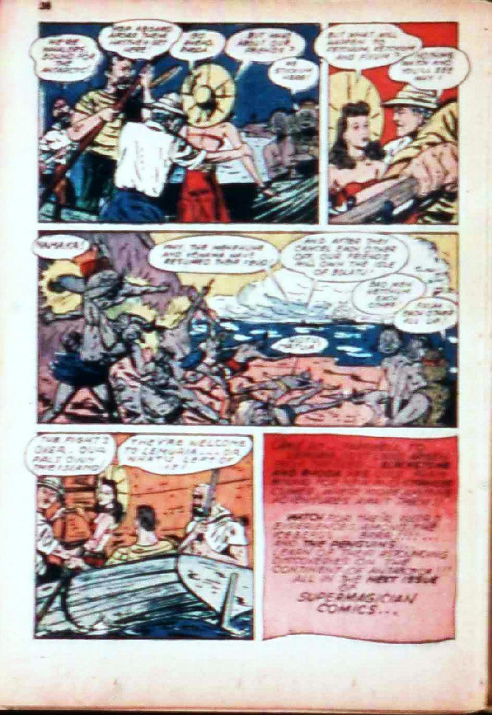 Read online Super-Magician Comics comic -  Issue #17 - 37