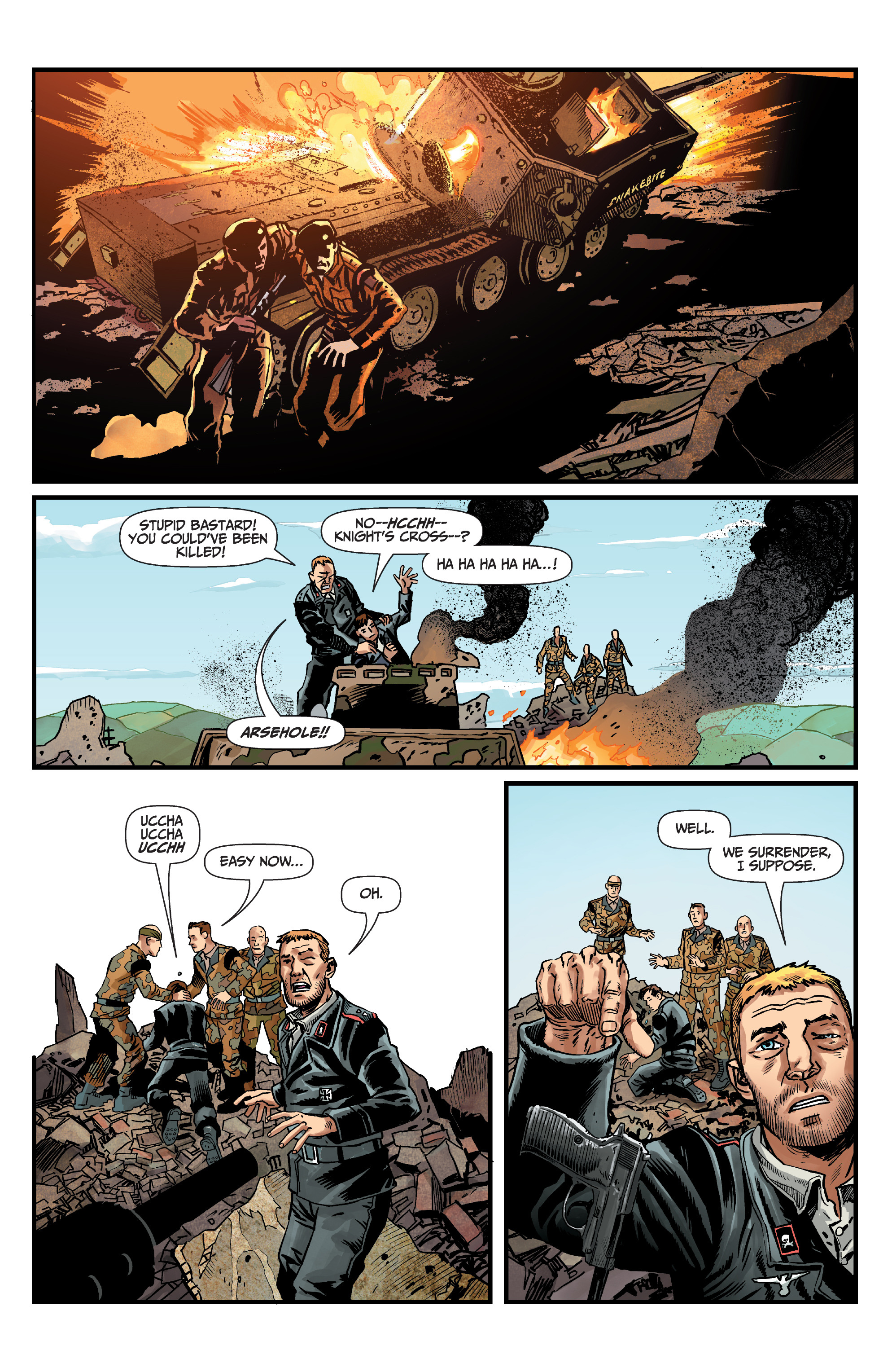 Read online World of Tanks comic -  Issue #5 - 16