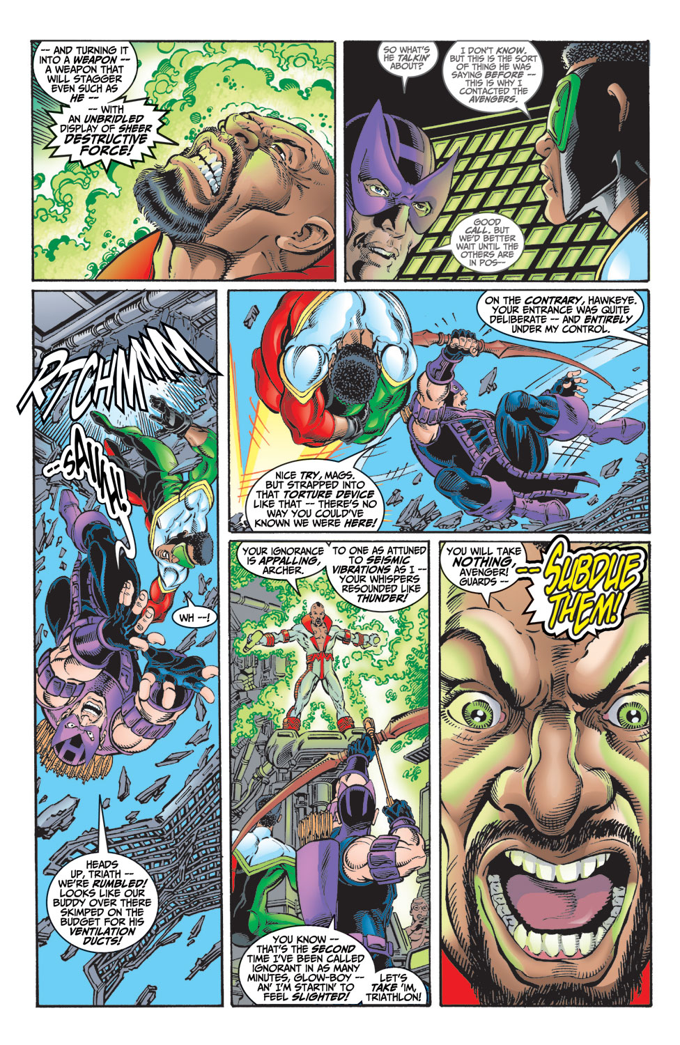 Read online Avengers (1998) comic -  Issue #9 - 12