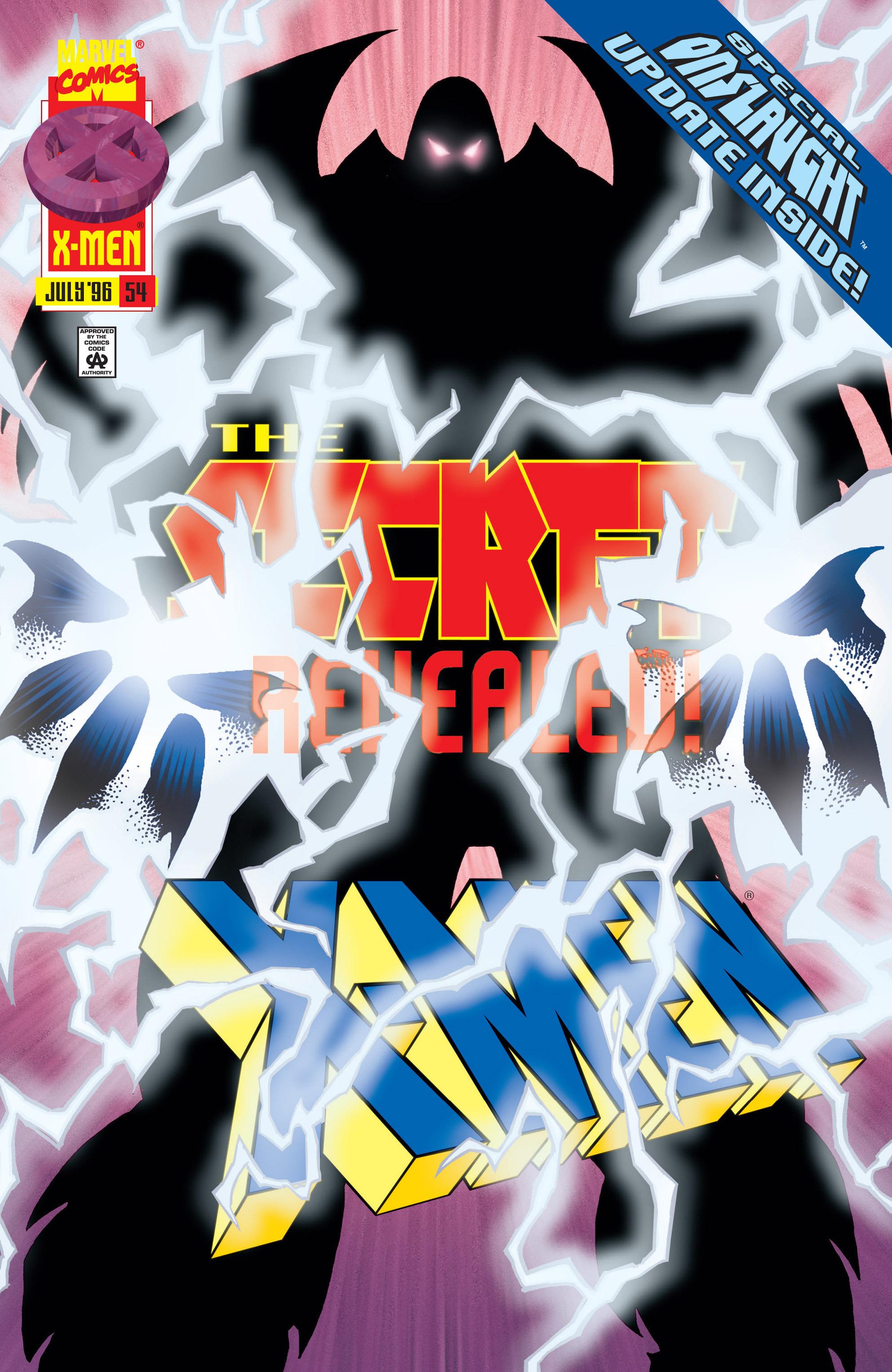 X-Men (1991) 54 Page 0