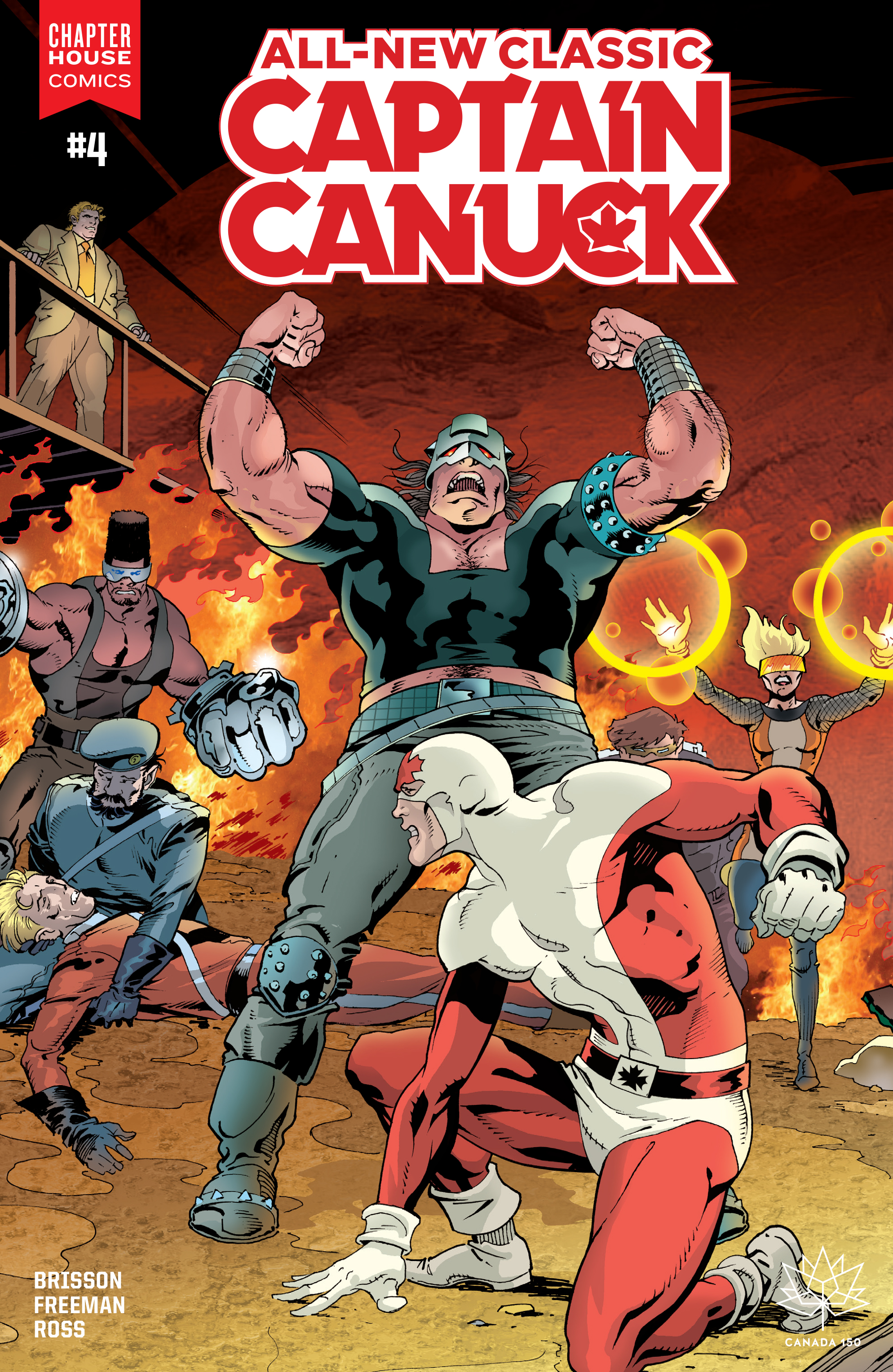 Read online All-New Classic Captain Canuck comic -  Issue #4 - 1