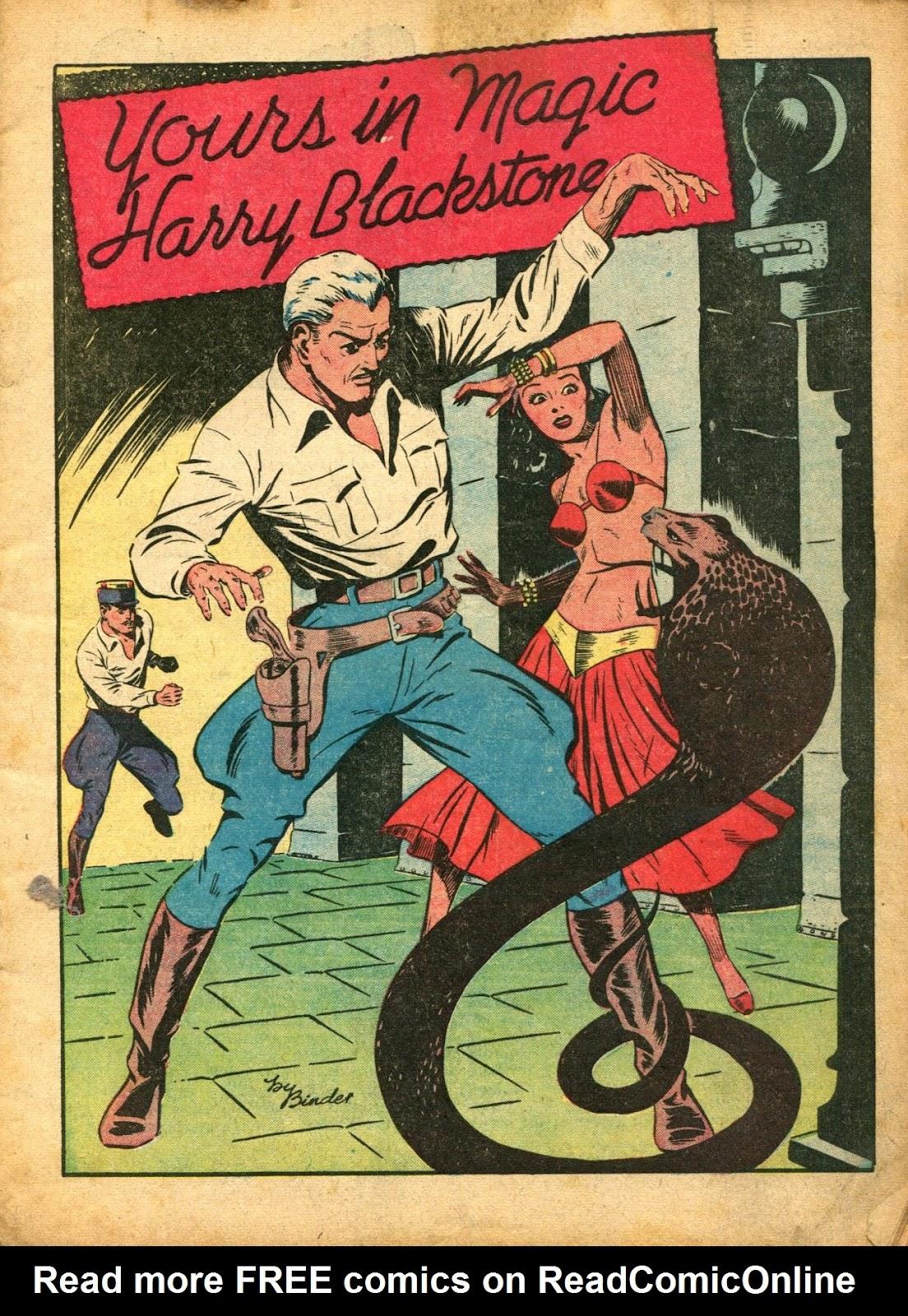 Read online Super-Magician Comics comic -  Issue #5 - 3
