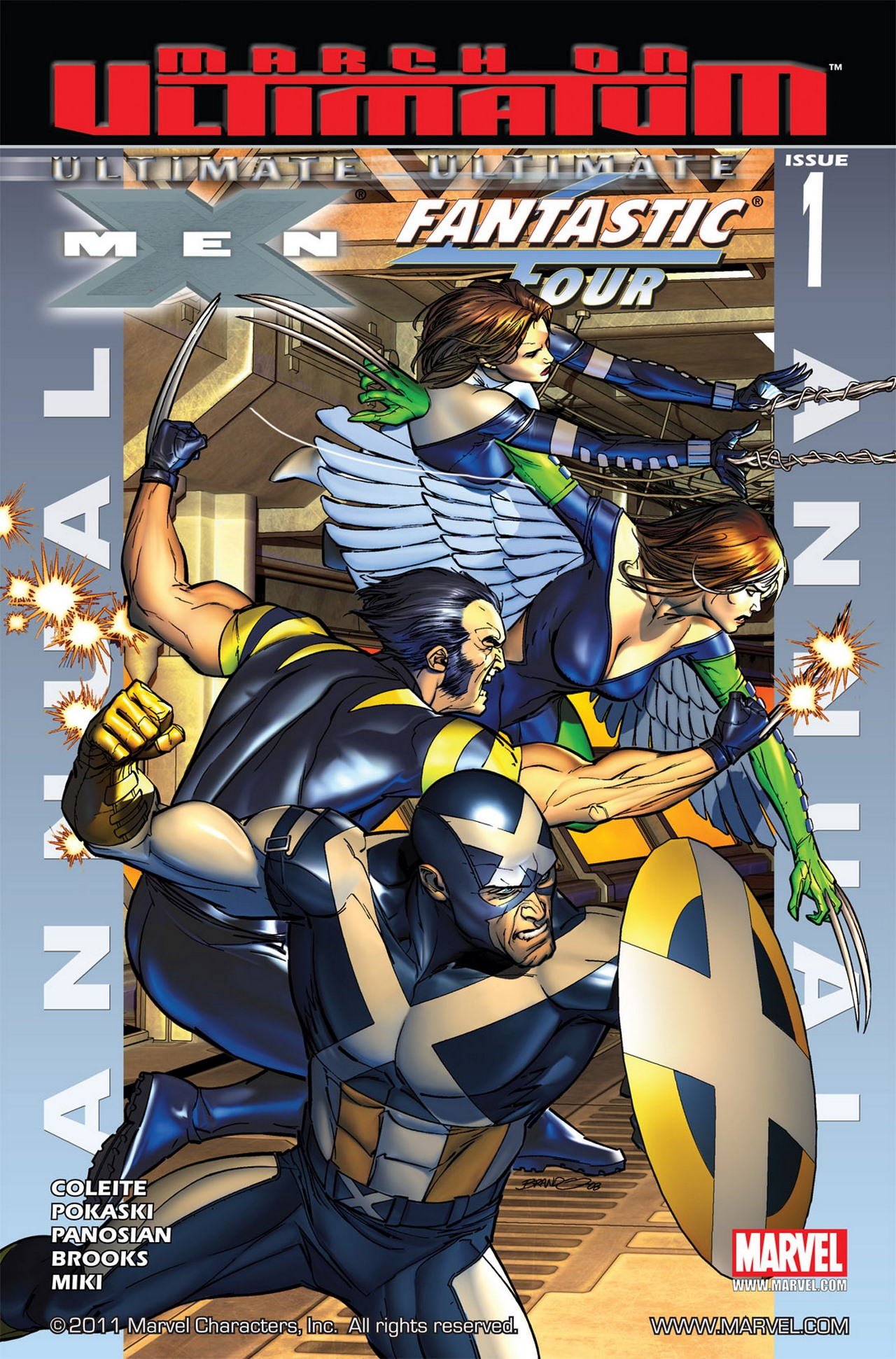 Read online Ultimate X-Men/Ultimate Fantastic Four Annual comic -  Issue # Full - 1