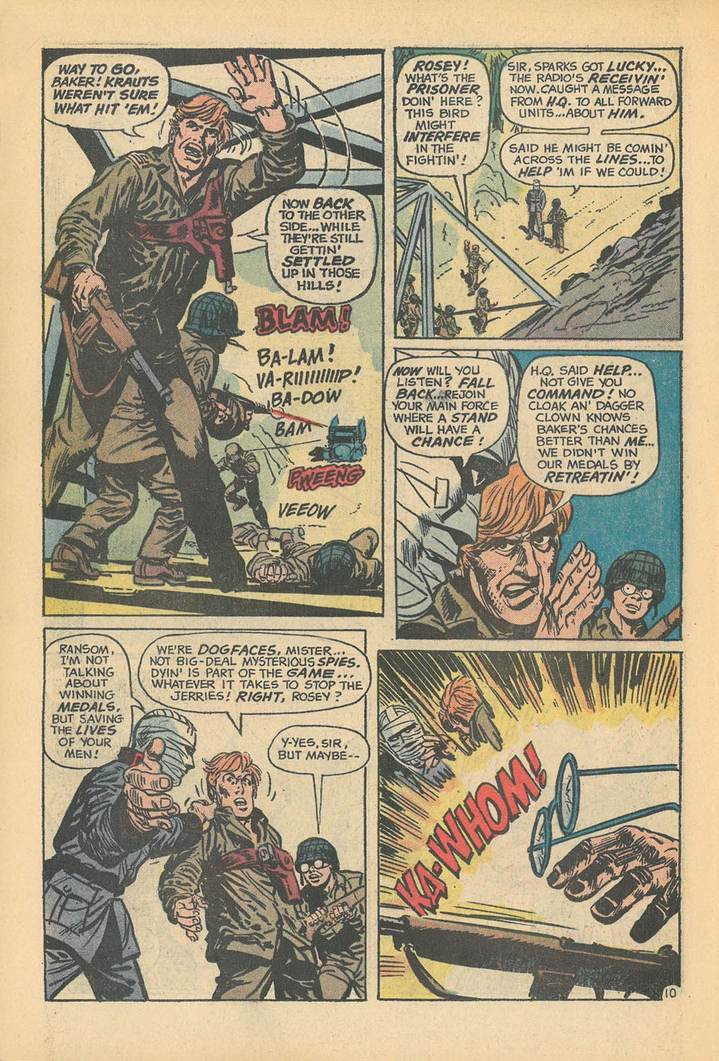 Read online Star Spangled War Stories (1952) comic -  Issue #168 - 14