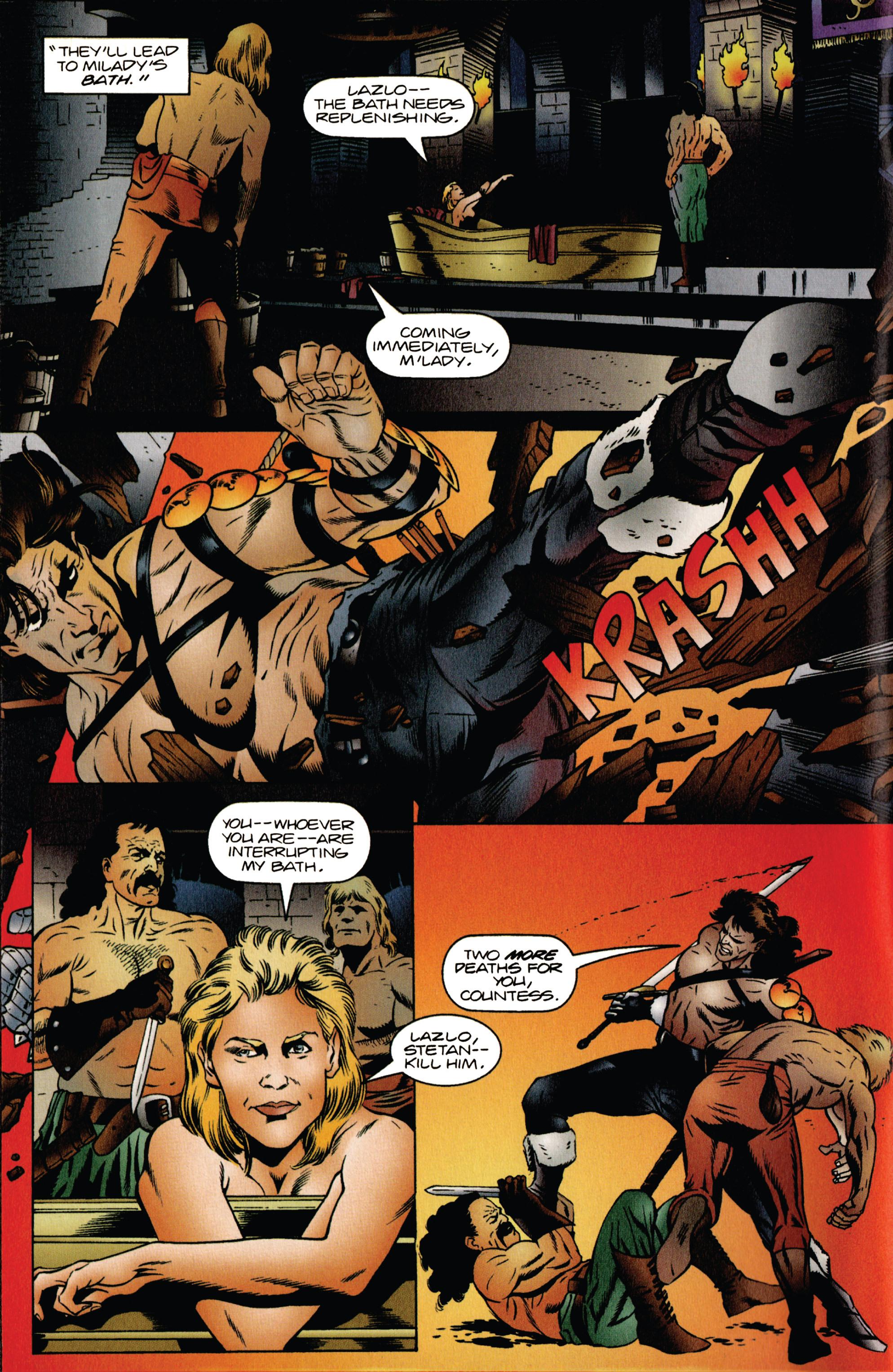 Read online Eternal Warrior (1992) comic -  Issue #39 - 5